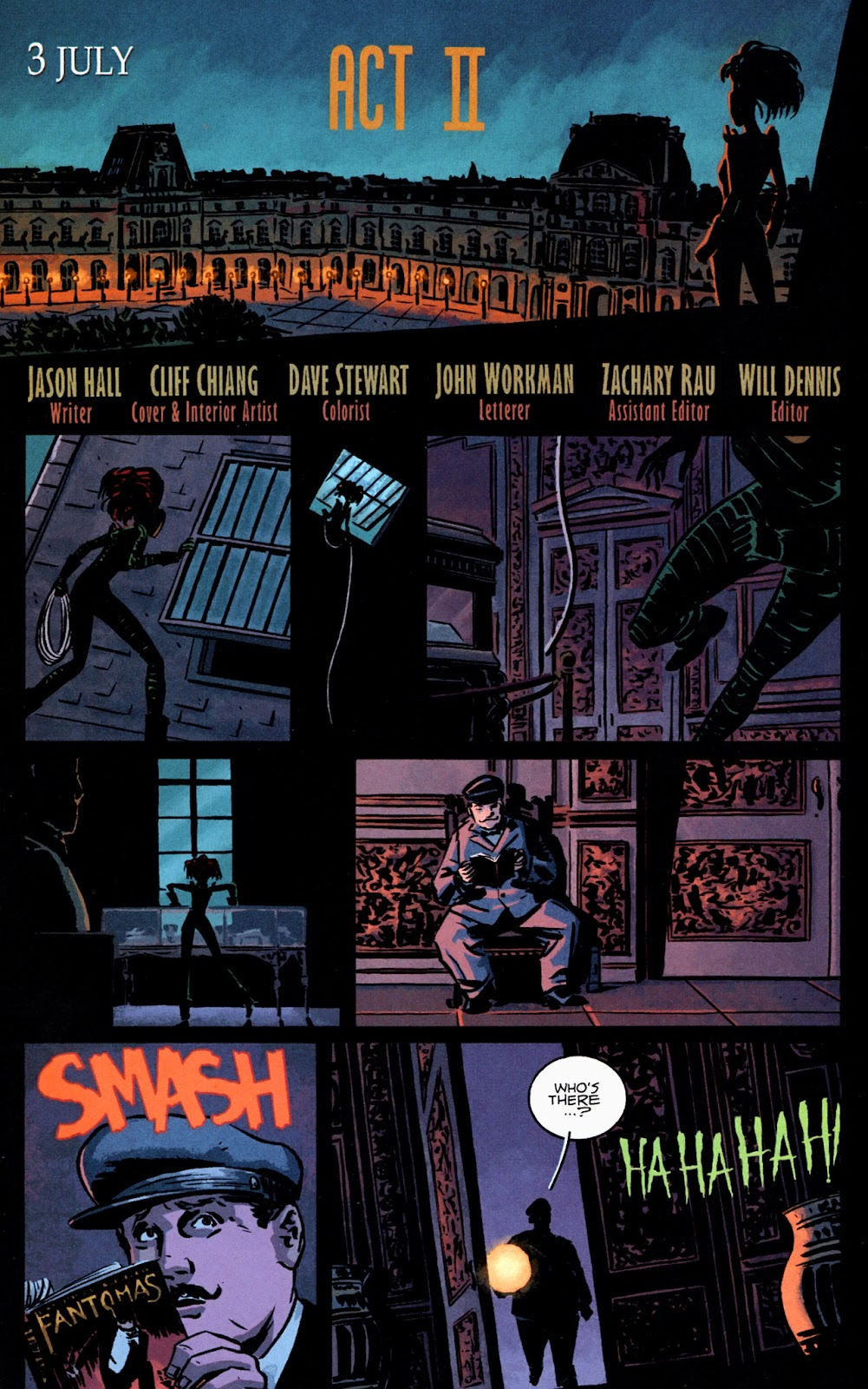 Read online Beware The Creeper (2003) comic -  Issue #2 - 2
