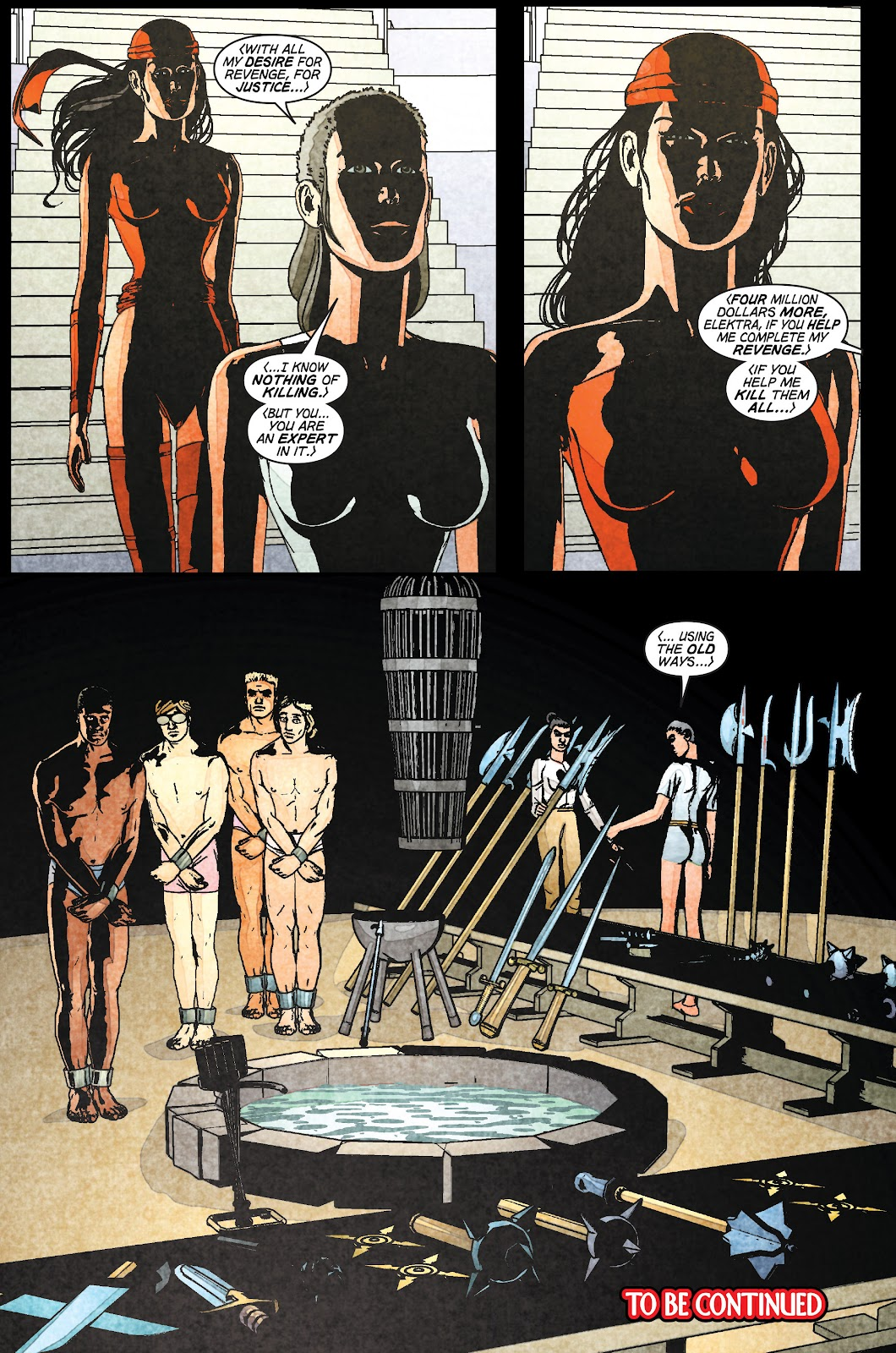 Read online Elektra (2001) comic -  Issue # _TPB Elektra by Greg Rucka Ultimate Collection (Part 1) - 49