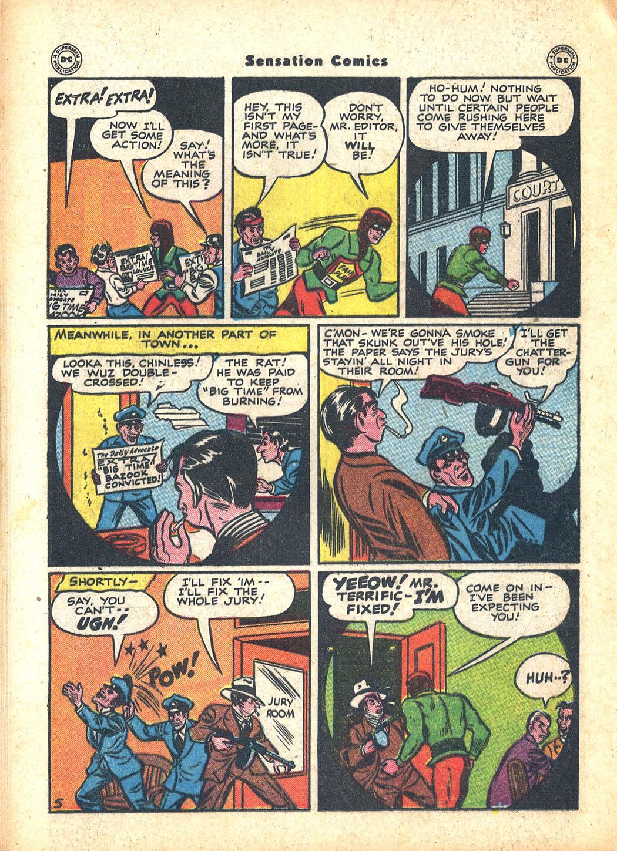 Read online Sensation (Mystery) Comics comic -  Issue #63 - 36