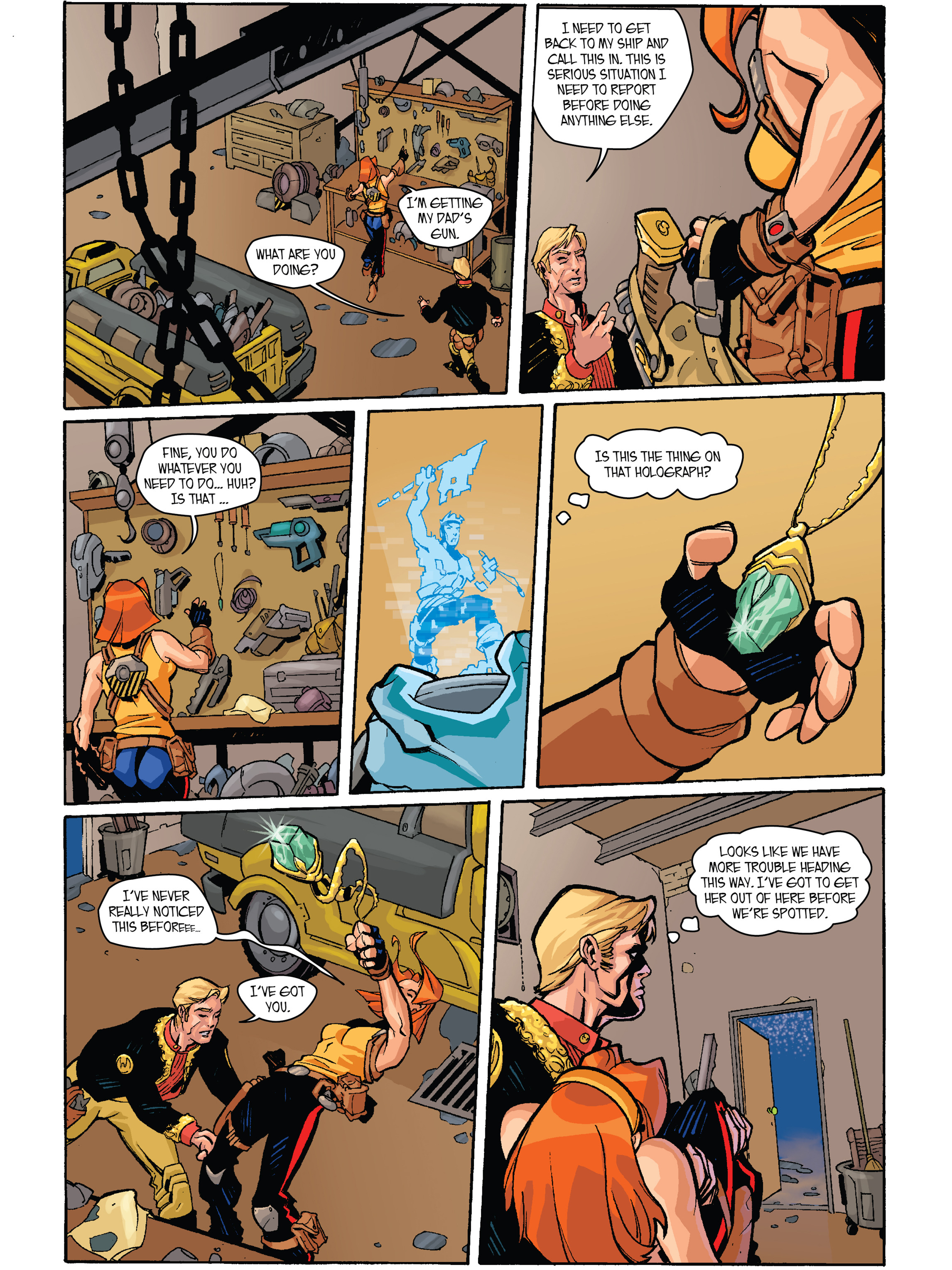 Read online Amber Atoms comic -  Issue #2 - 4