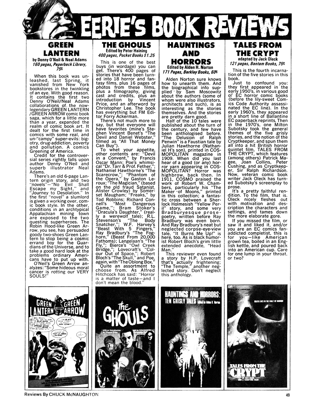 Read online Eerie Archives comic -  Issue # TPB 9 - 50