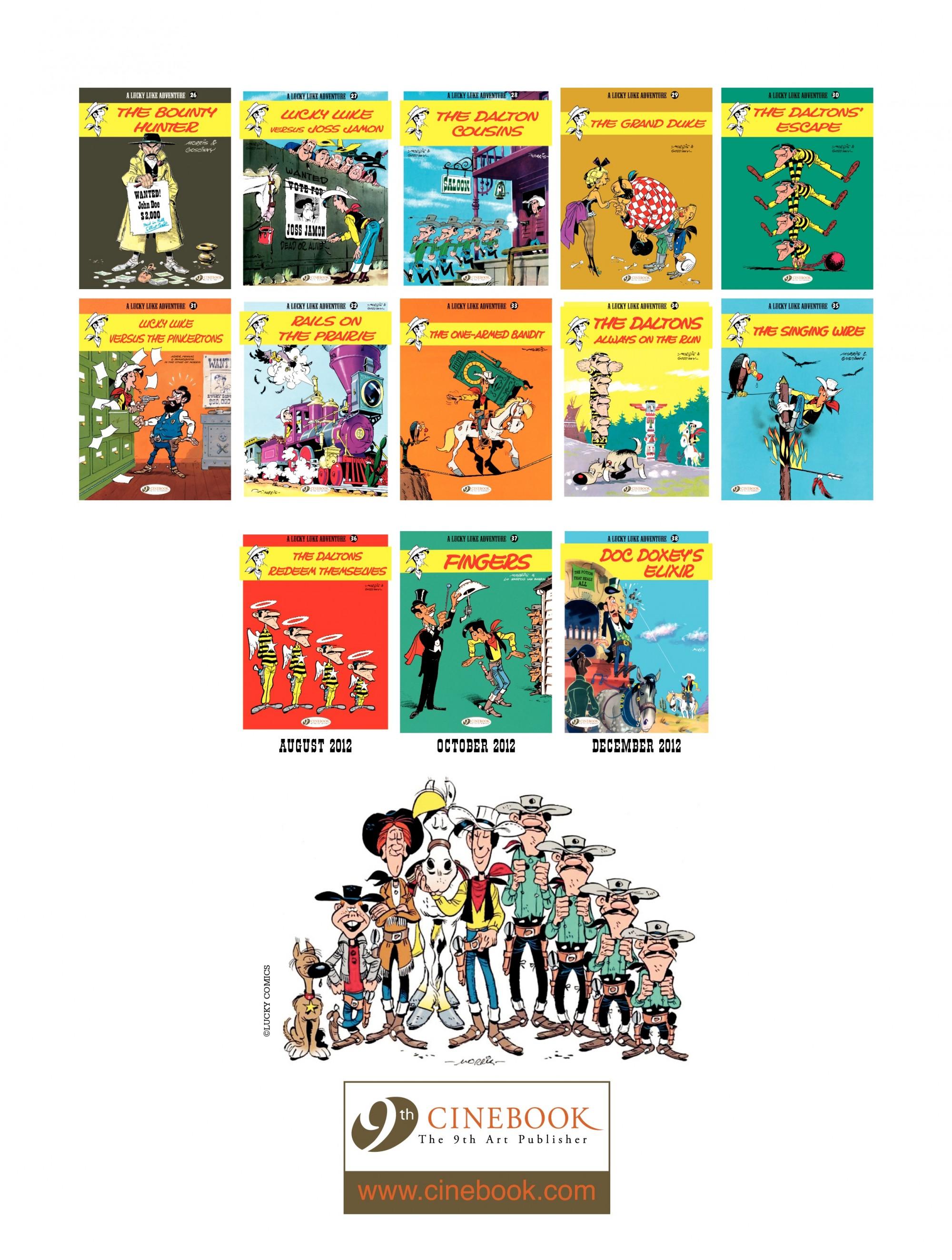 Read online A Lucky Luke Adventure comic -  Issue #35 - 48