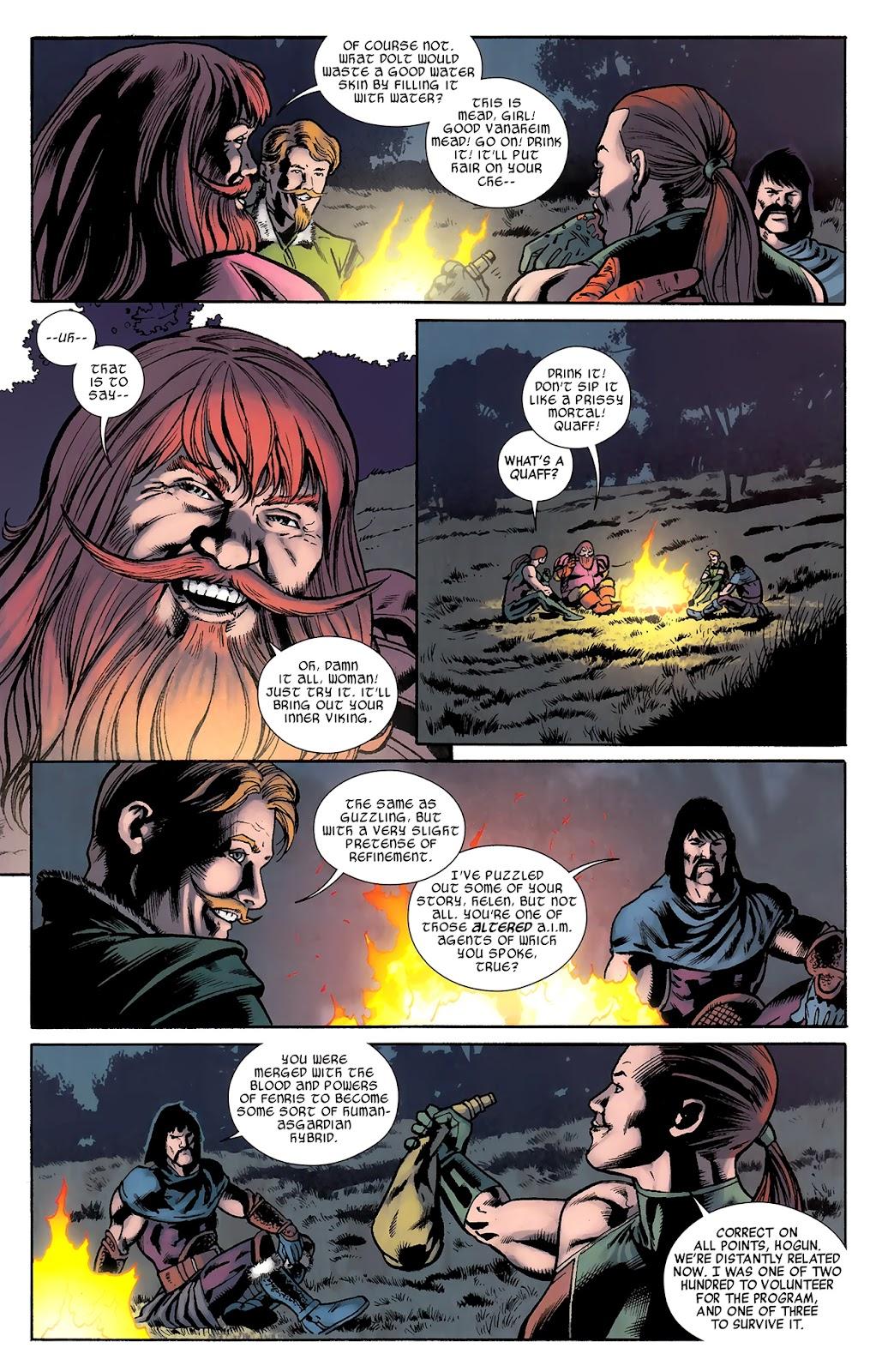 Warriors Three Issue #3 #3 - English 20