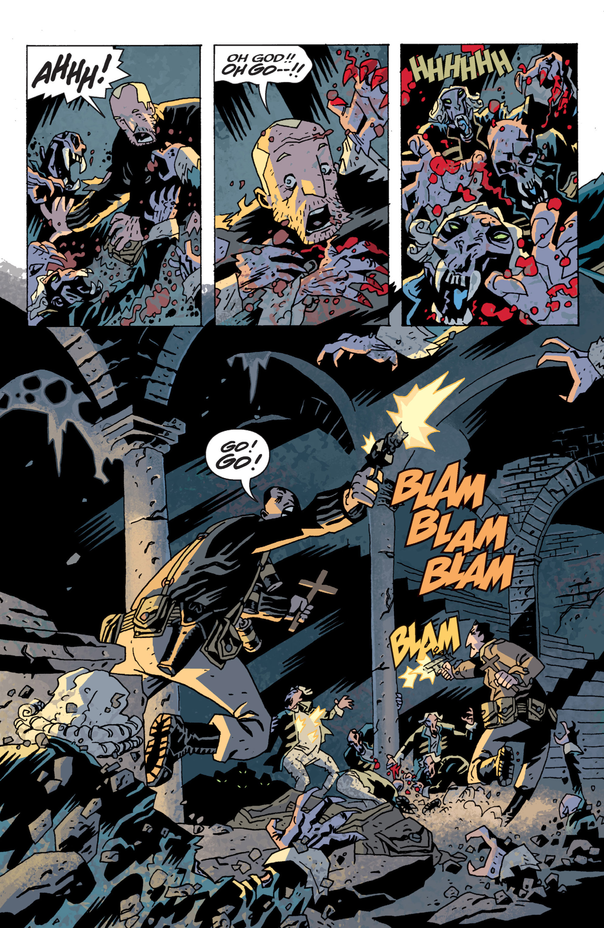 Read online B.P.R.D. (2003) comic -  Issue # TPB 13 - 64