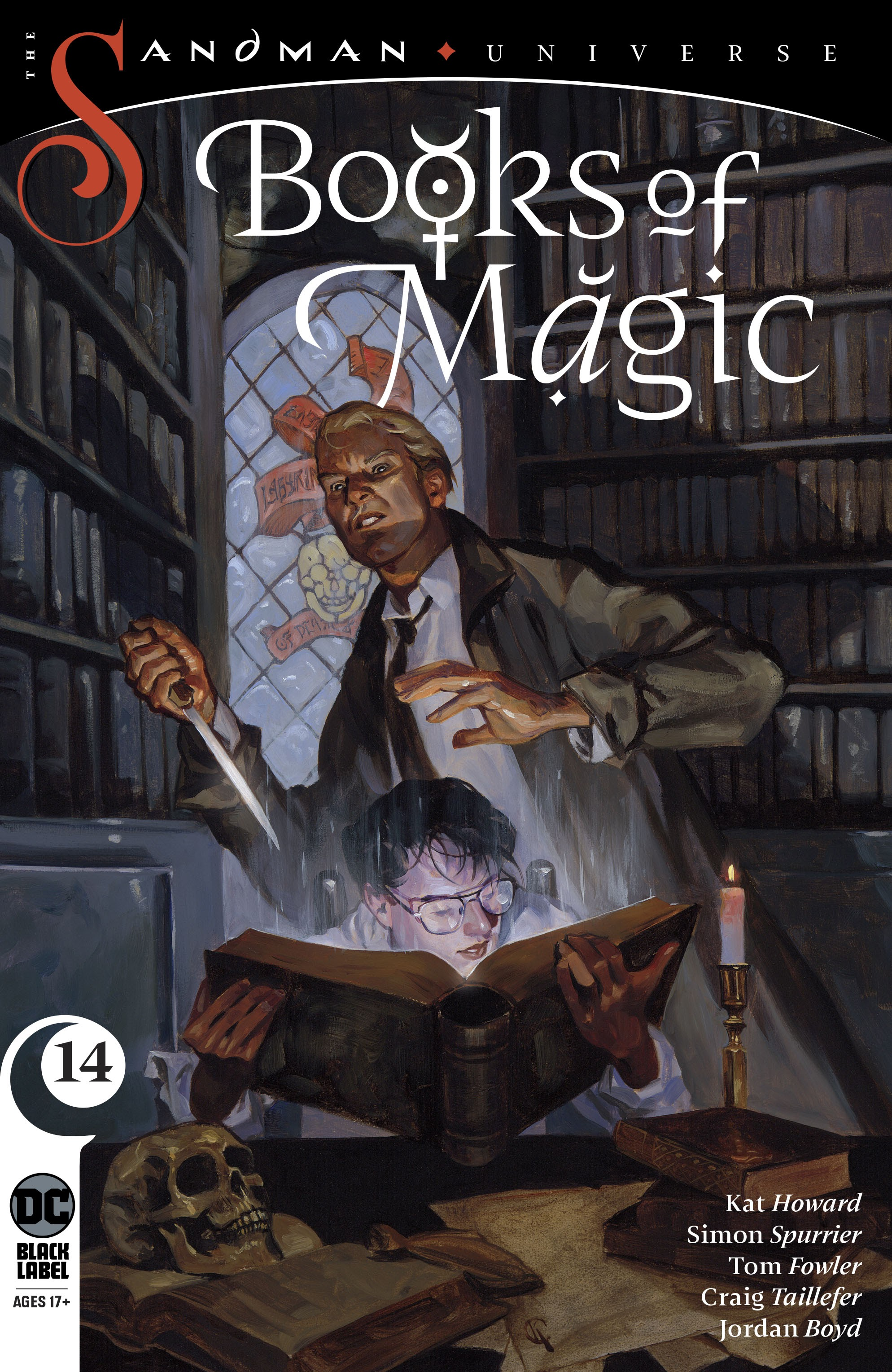 Books of Magic (2018) 14 Page 1