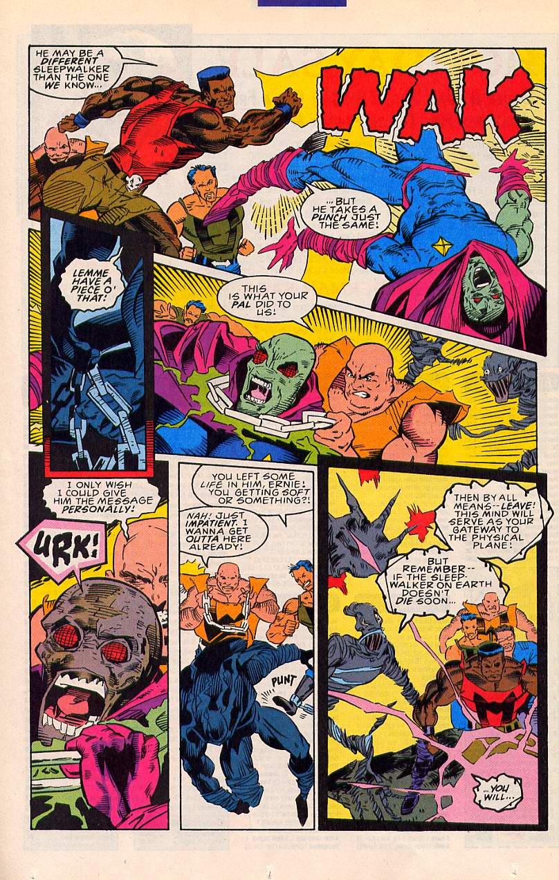 Read online Sleepwalker comic -  Issue #20 - 12