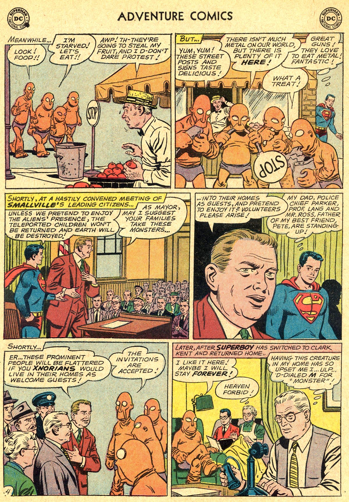 Read online Adventure Comics (1938) comic -  Issue #294 - 6