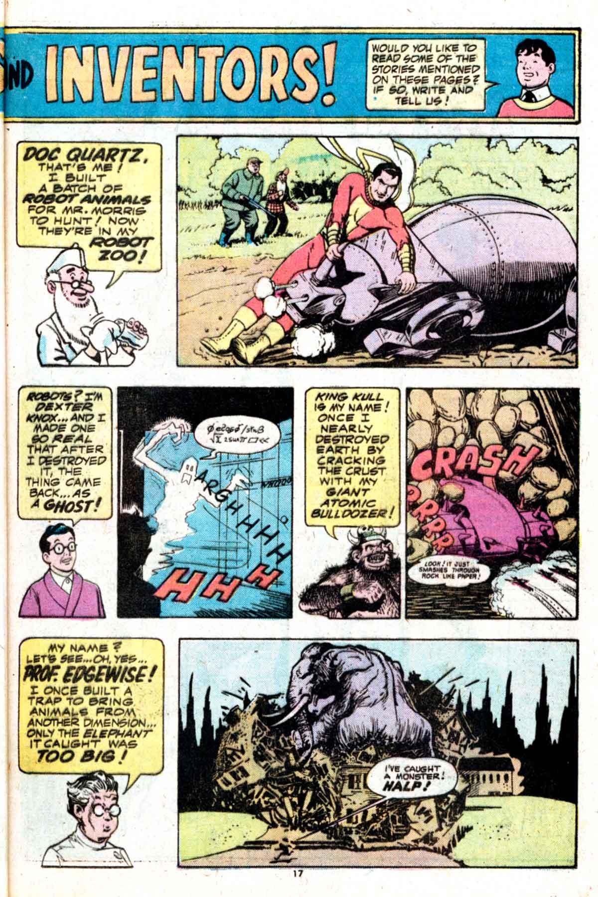 Read online Shazam! (1973) comic -  Issue #15 - 17