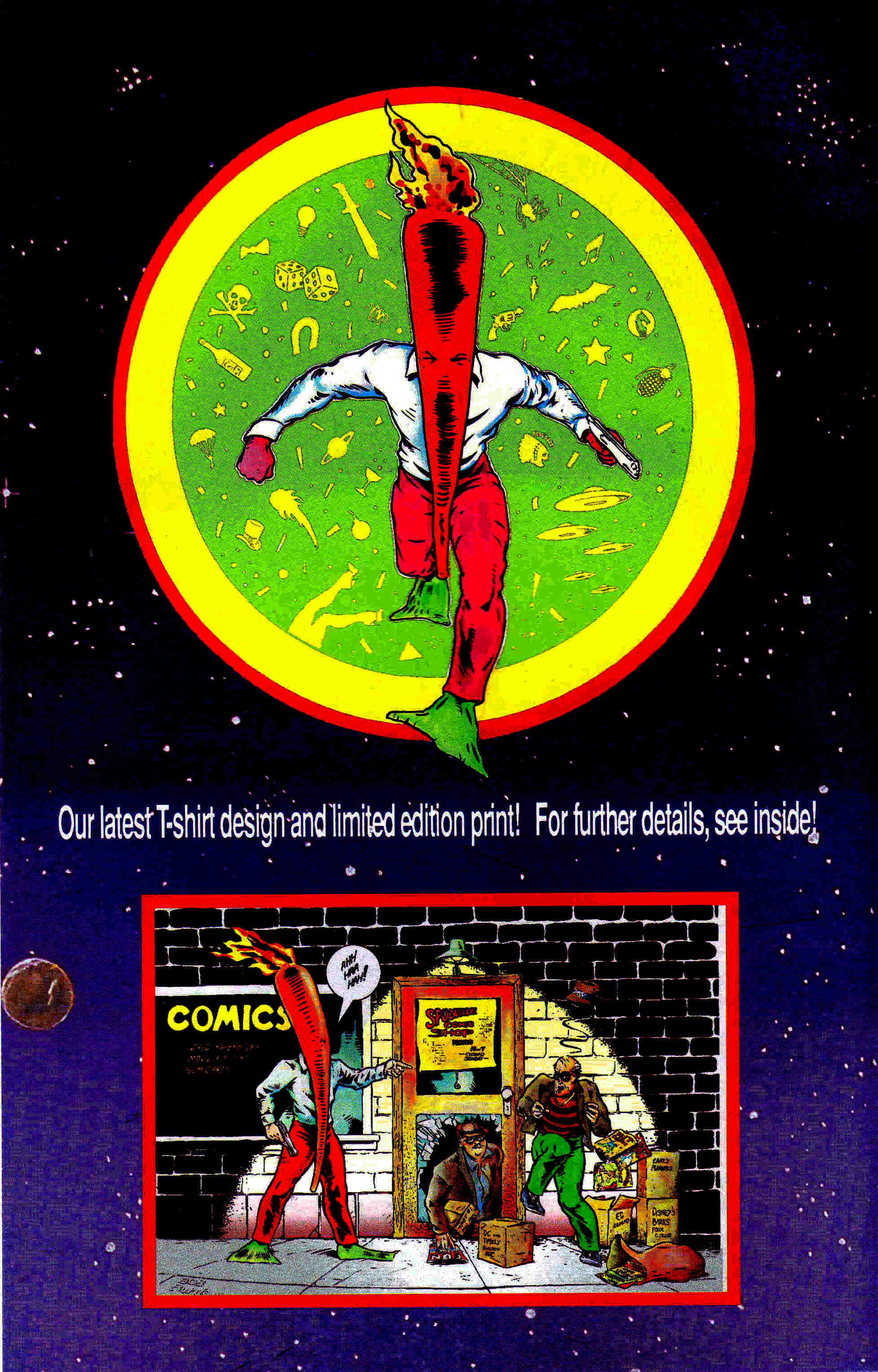 Read online Flaming Carrot Comics (1988) comic -  Issue #22 - 30