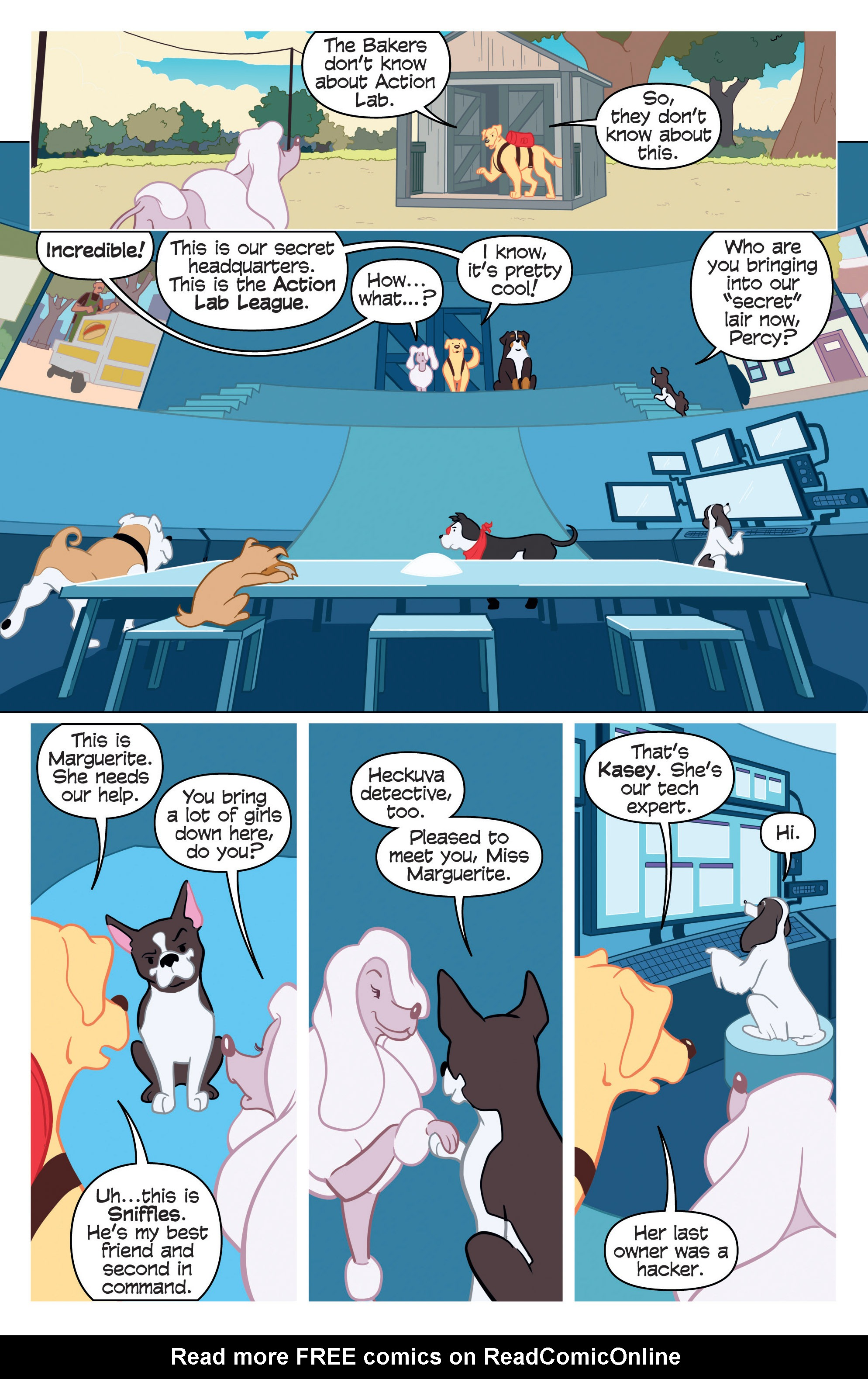 Read online Action Lab, Dog of Wonder comic -  Issue #2 - 6