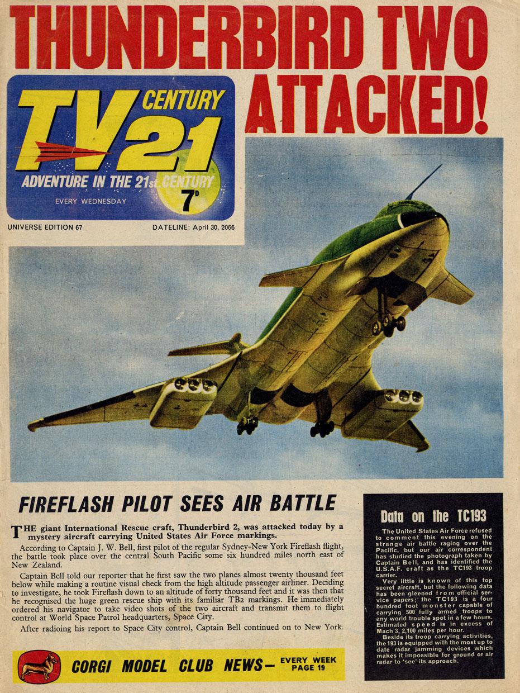 TV Century 21 (TV 21) 67 Page 1