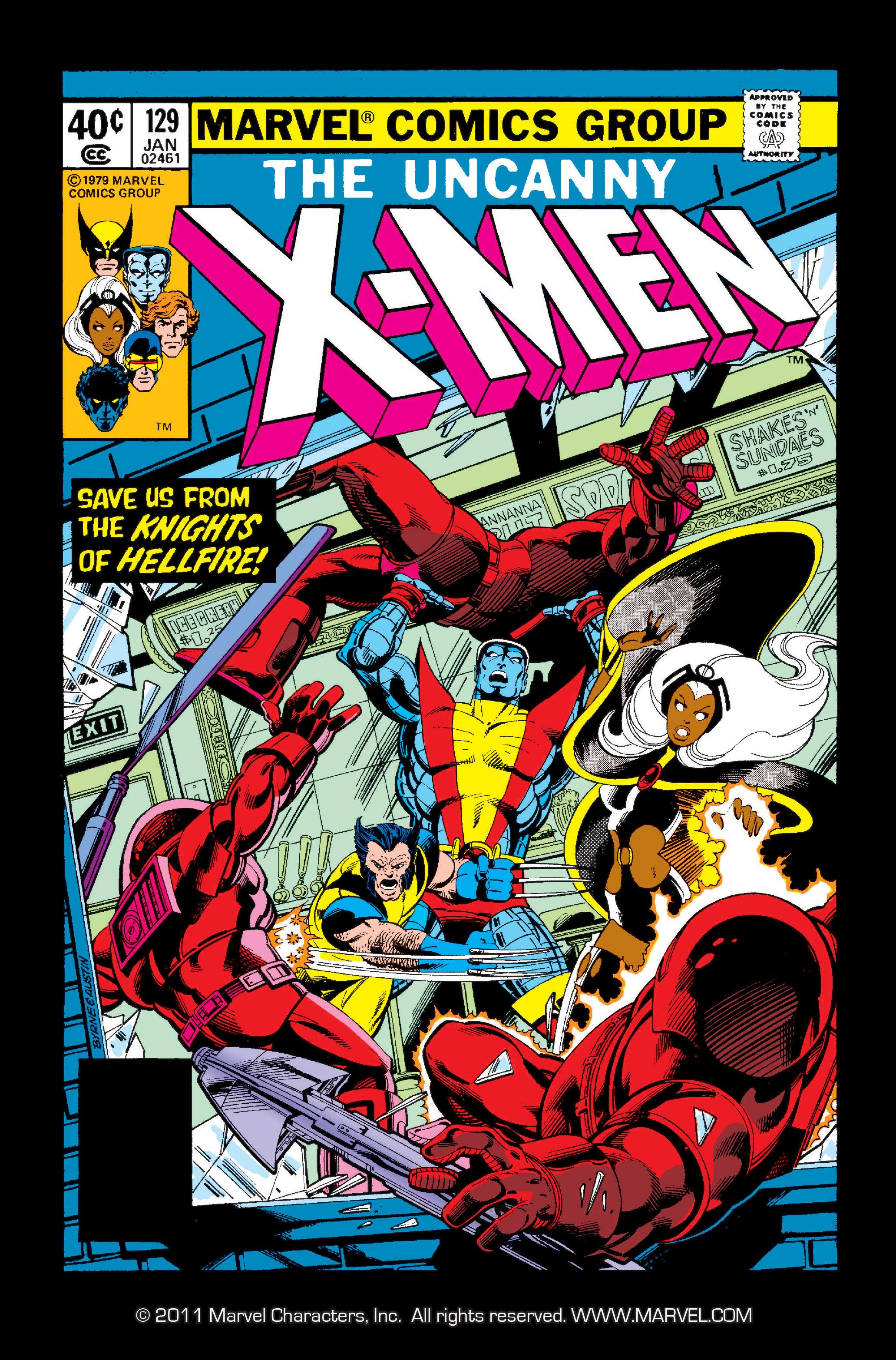 Read online Uncanny X-Men (1963) comic -  Issue #129 - 1
