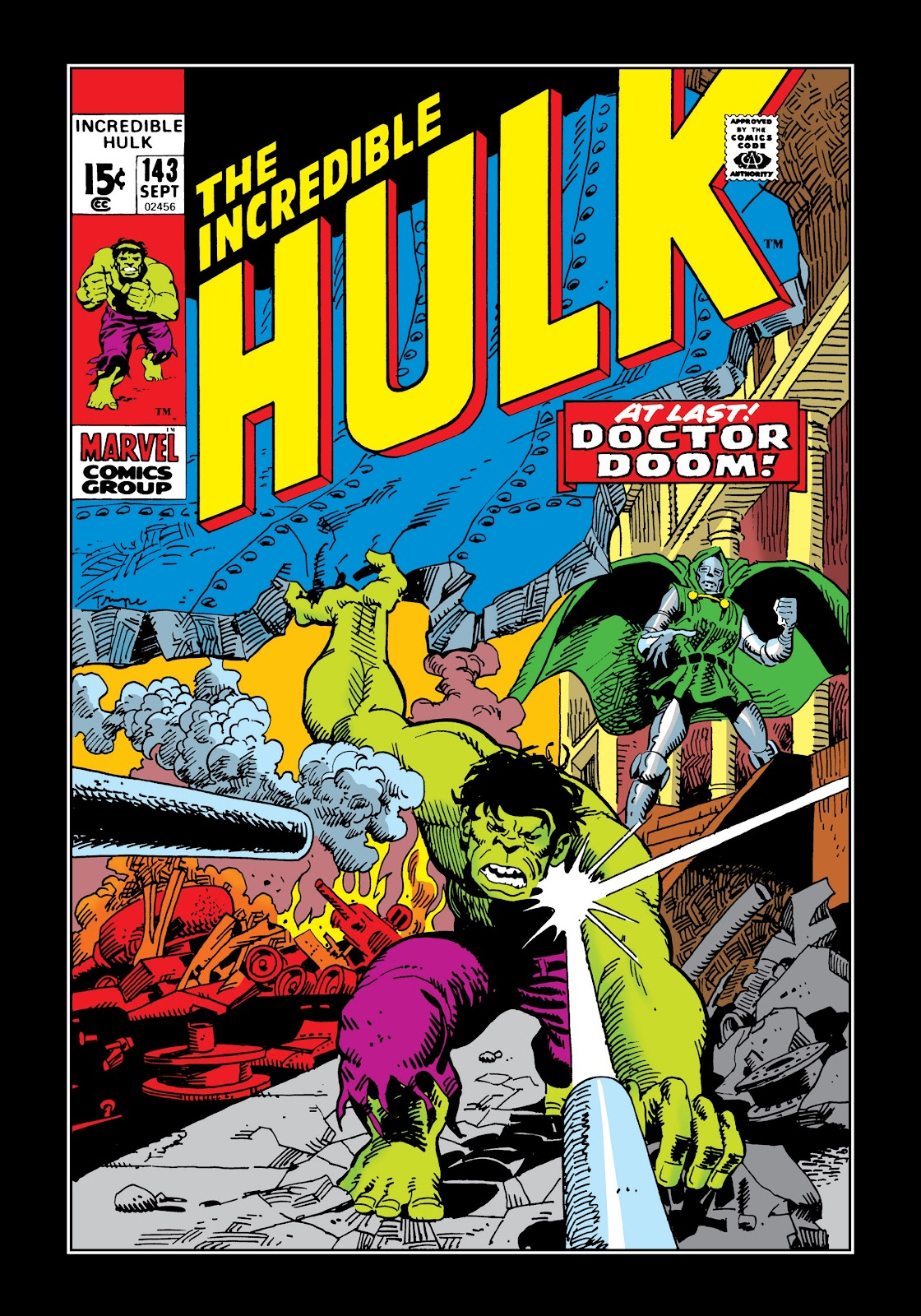 Read online Marvel Masterworks: The Incredible Hulk comic -  Issue # TPB 7 (Part 2) - 87