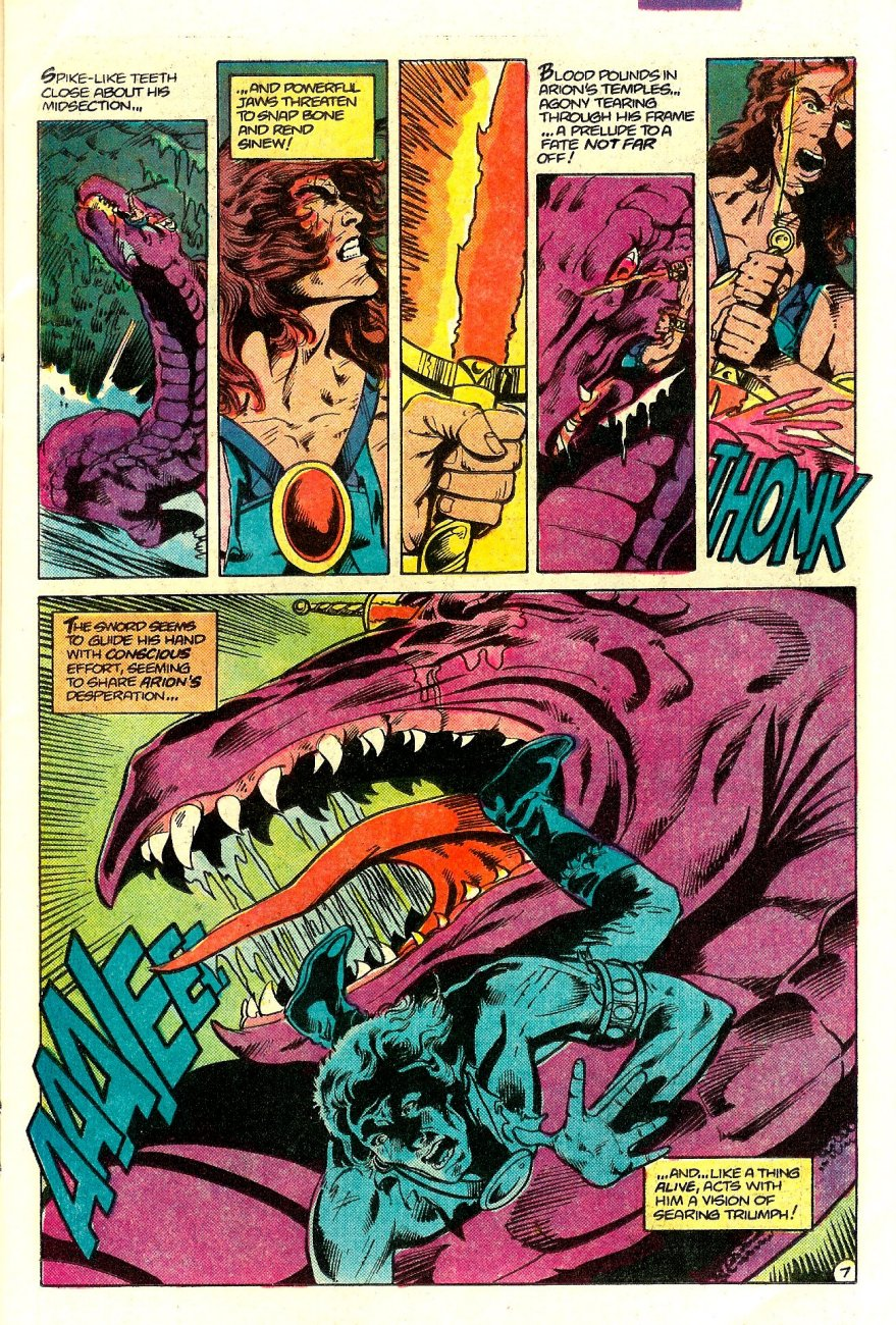 Read online Arion, Lord of Atlantis comic -  Issue #15 - 8