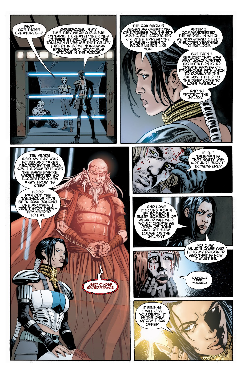 Read online Star Wars Legends: Legacy - Epic Collection comic -  Issue # TPB 2 (Part 3) - 16
