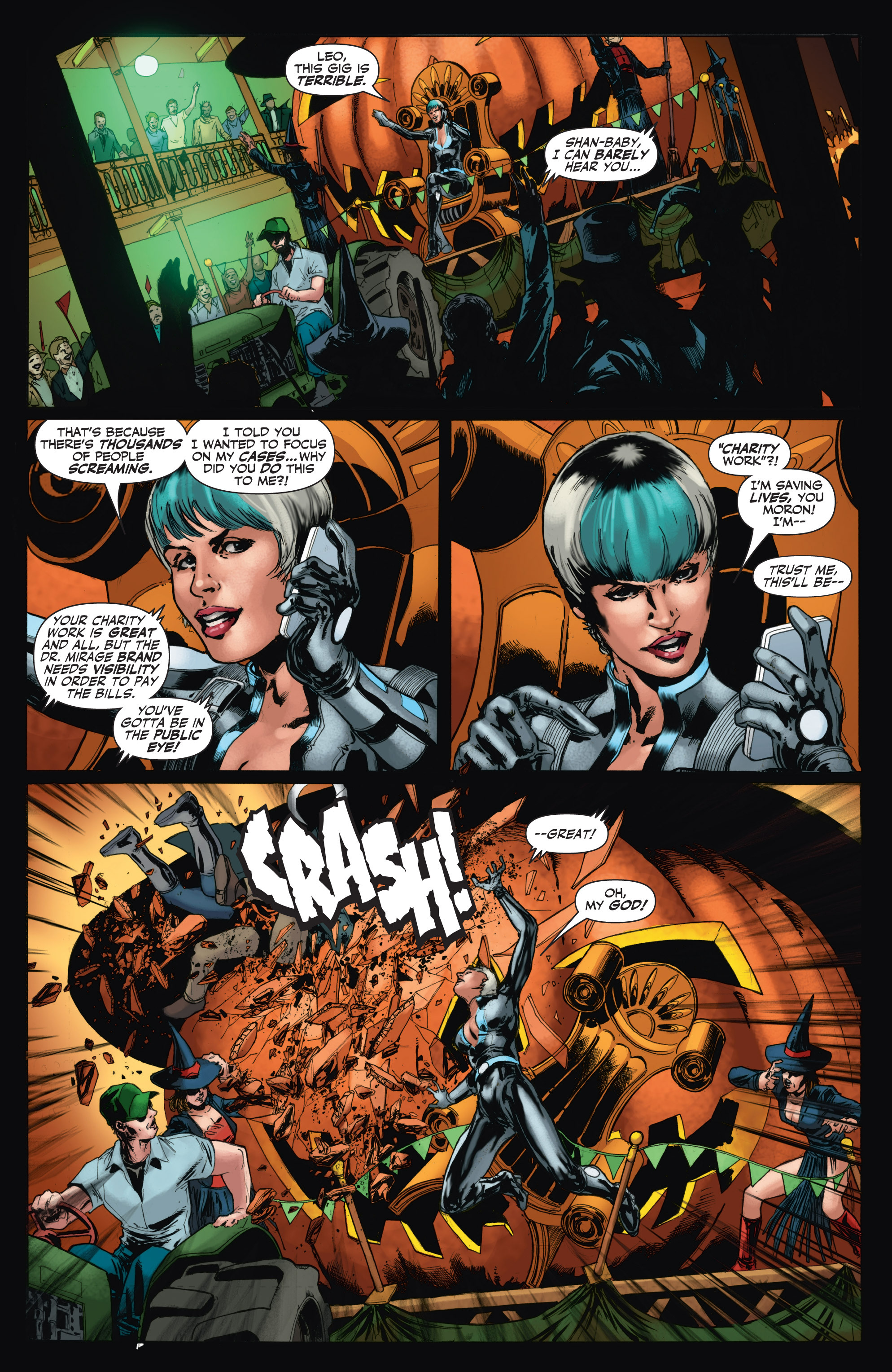Read online Shadowman (2012) comic -  Issue #11 - 15