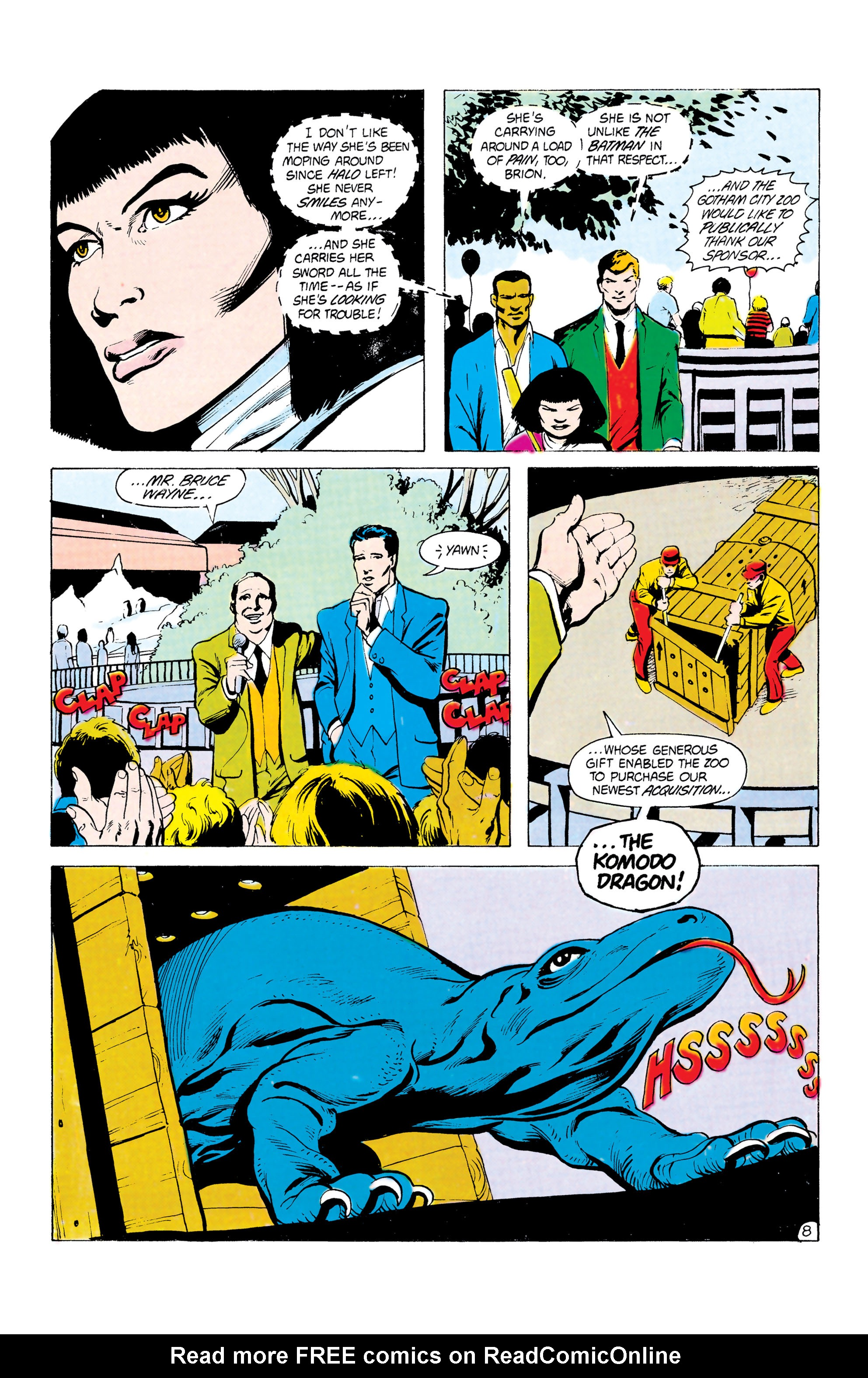 Batman and the Outsiders (1983) 24 Page 8