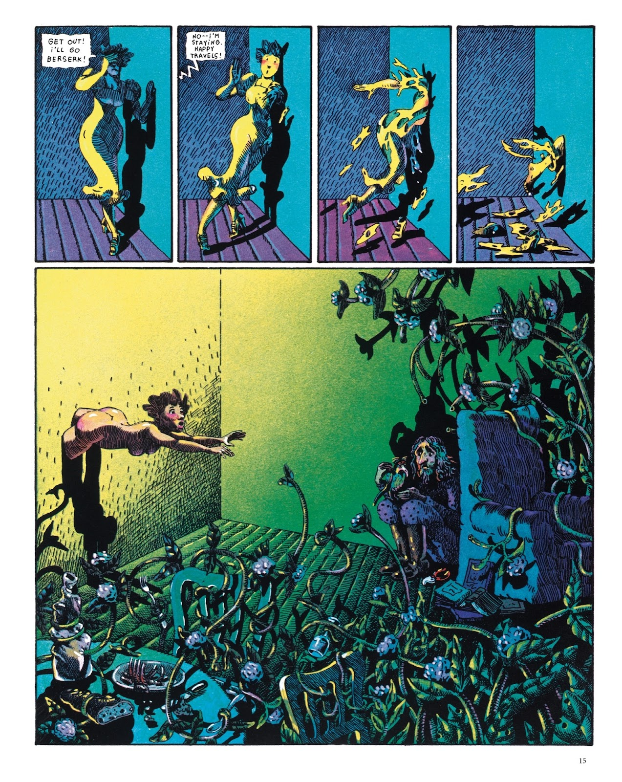 Read online The Green Hand and Other Stories comic -  Issue # TPB - 14