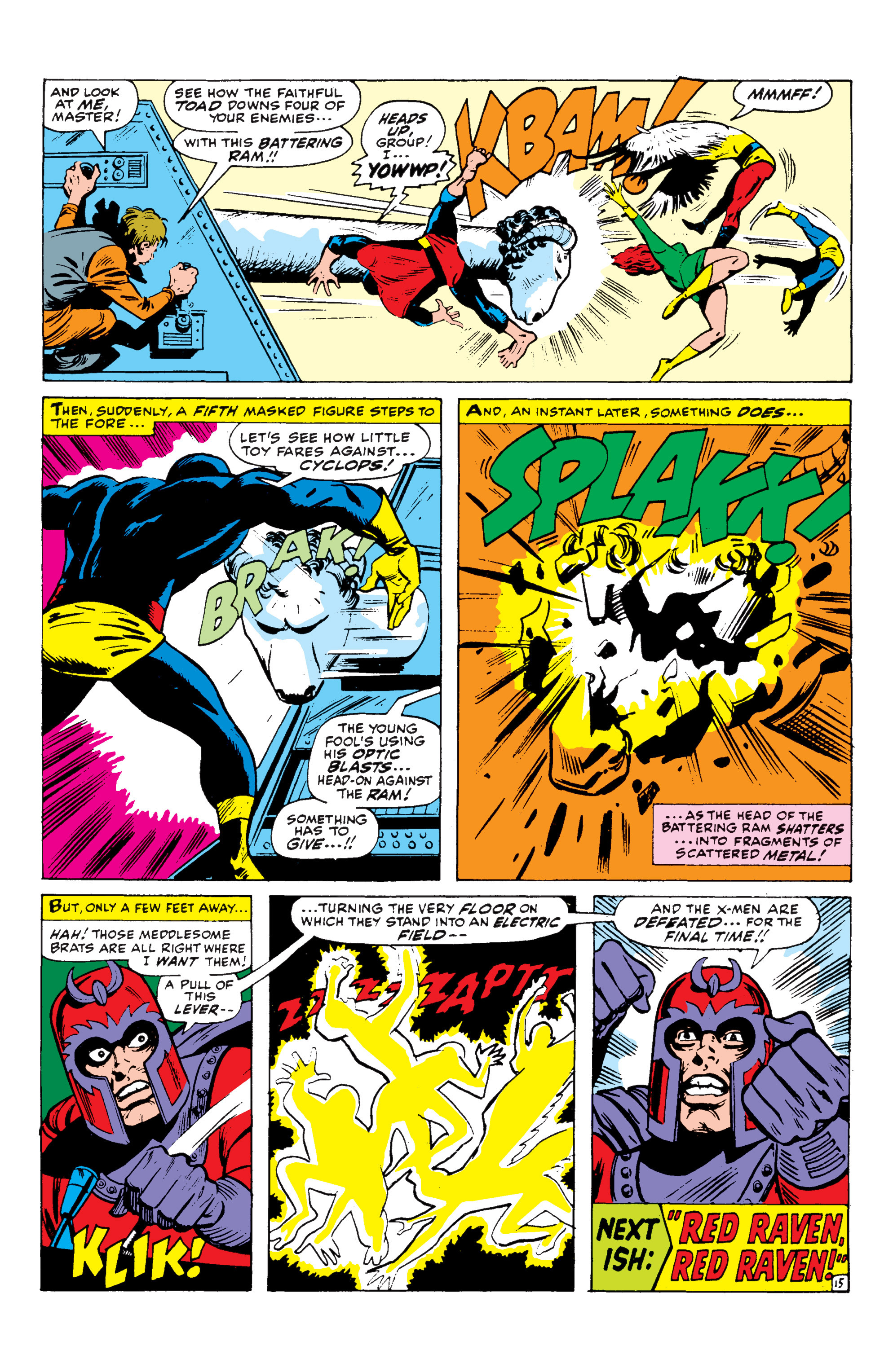 Read online Uncanny X-Men (1963) comic -  Issue #43 - 16