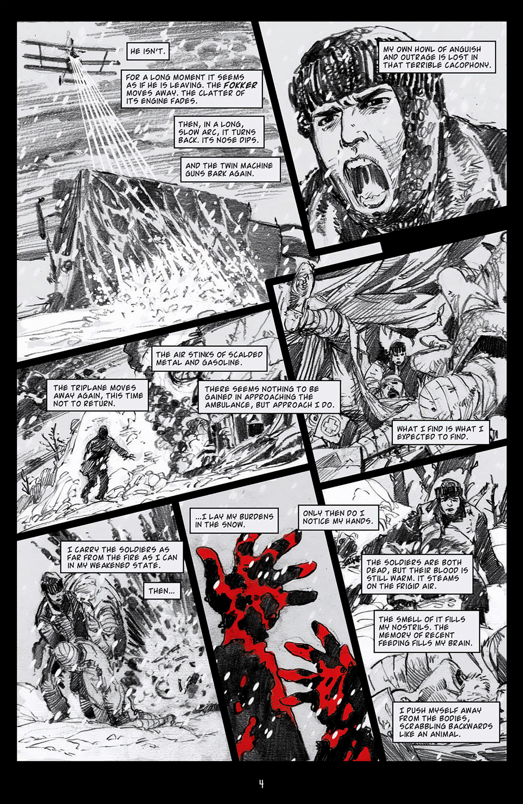 Read online Angel: Blood & Trenches comic -  Issue #1 - 7