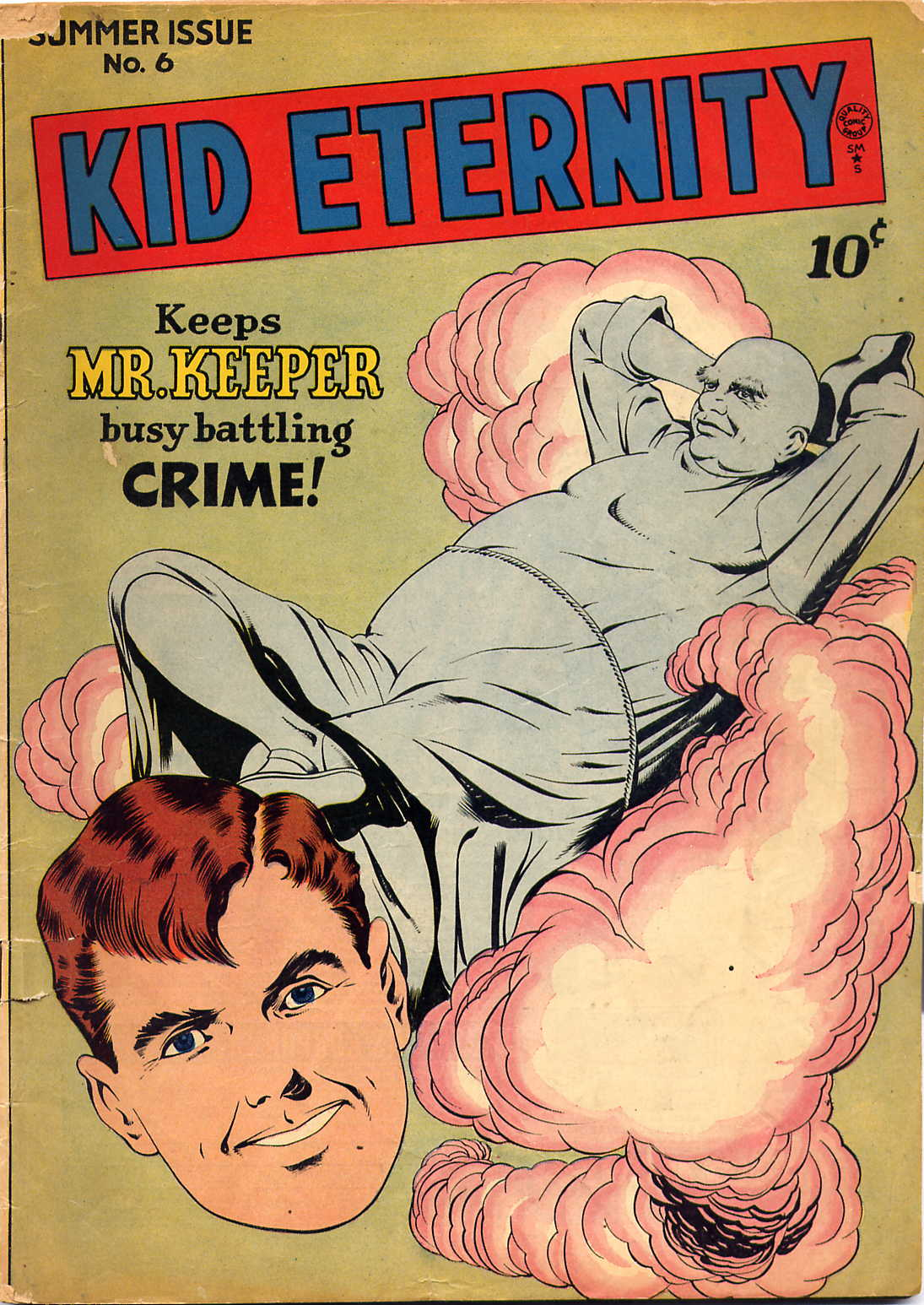 Kid Eternity (1946) issue 6 - Page 1