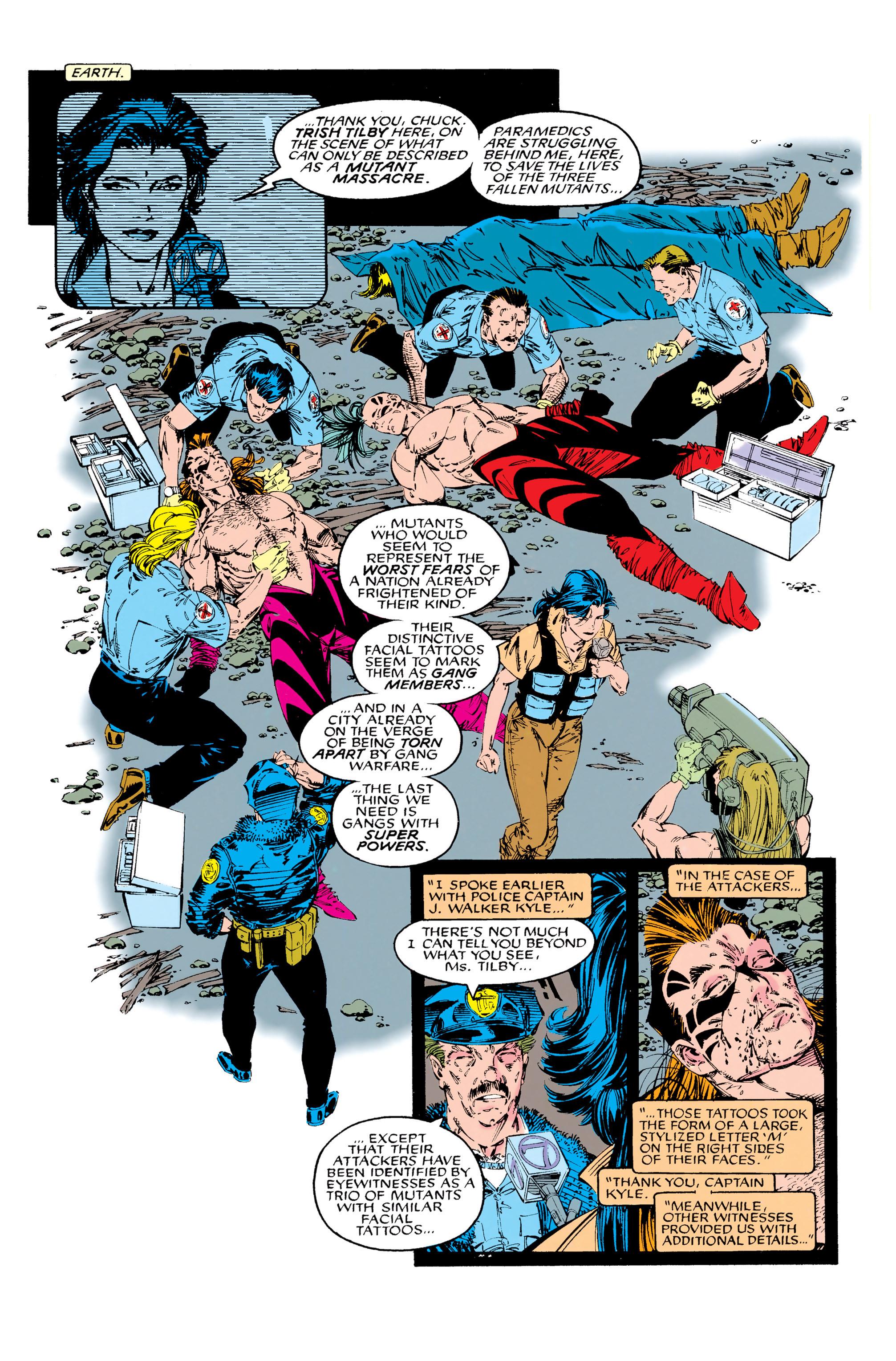 Read online Uncanny X-Men (1963) comic -  Issue #285 - 21