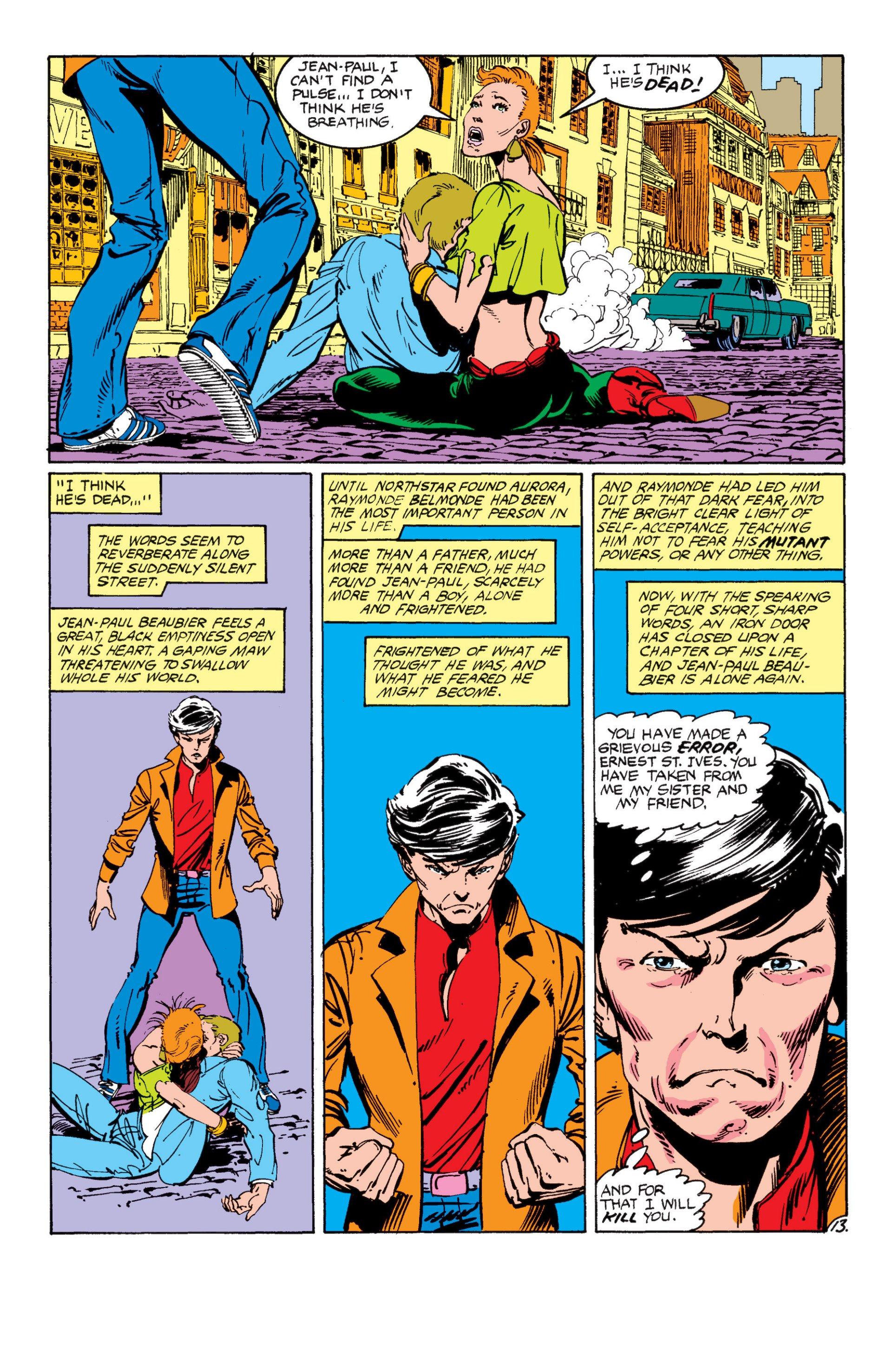 Read online Alpha Flight (1983) comic -  Issue #7 - 14