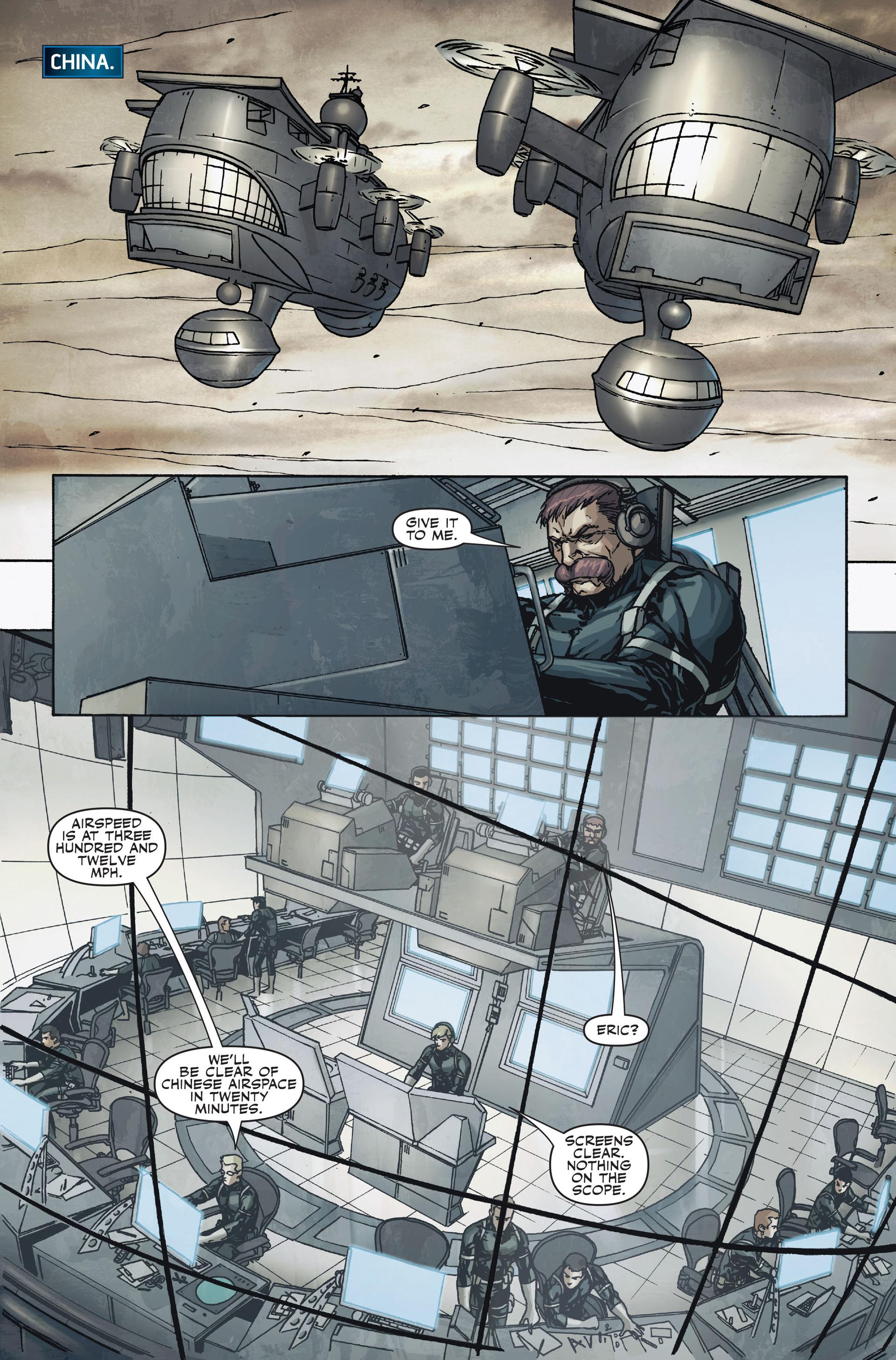 Read online Secret Warriors comic -  Issue #18 - 20
