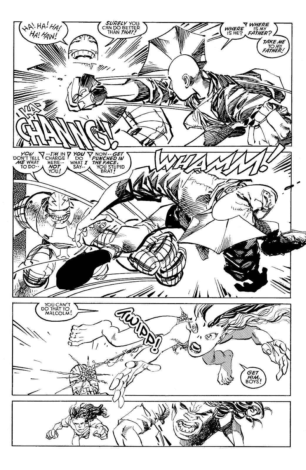 Read online Savage Dragon Archives comic -  Issue # TPB 6 (Part 4) - 30