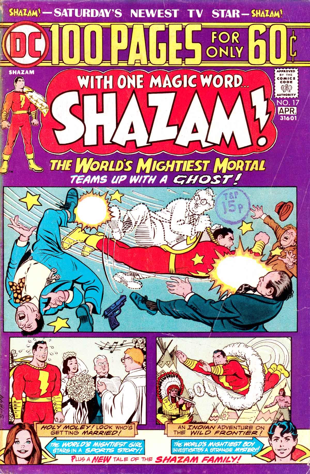 Read online Shazam! (1973) comic -  Issue #17 - 1