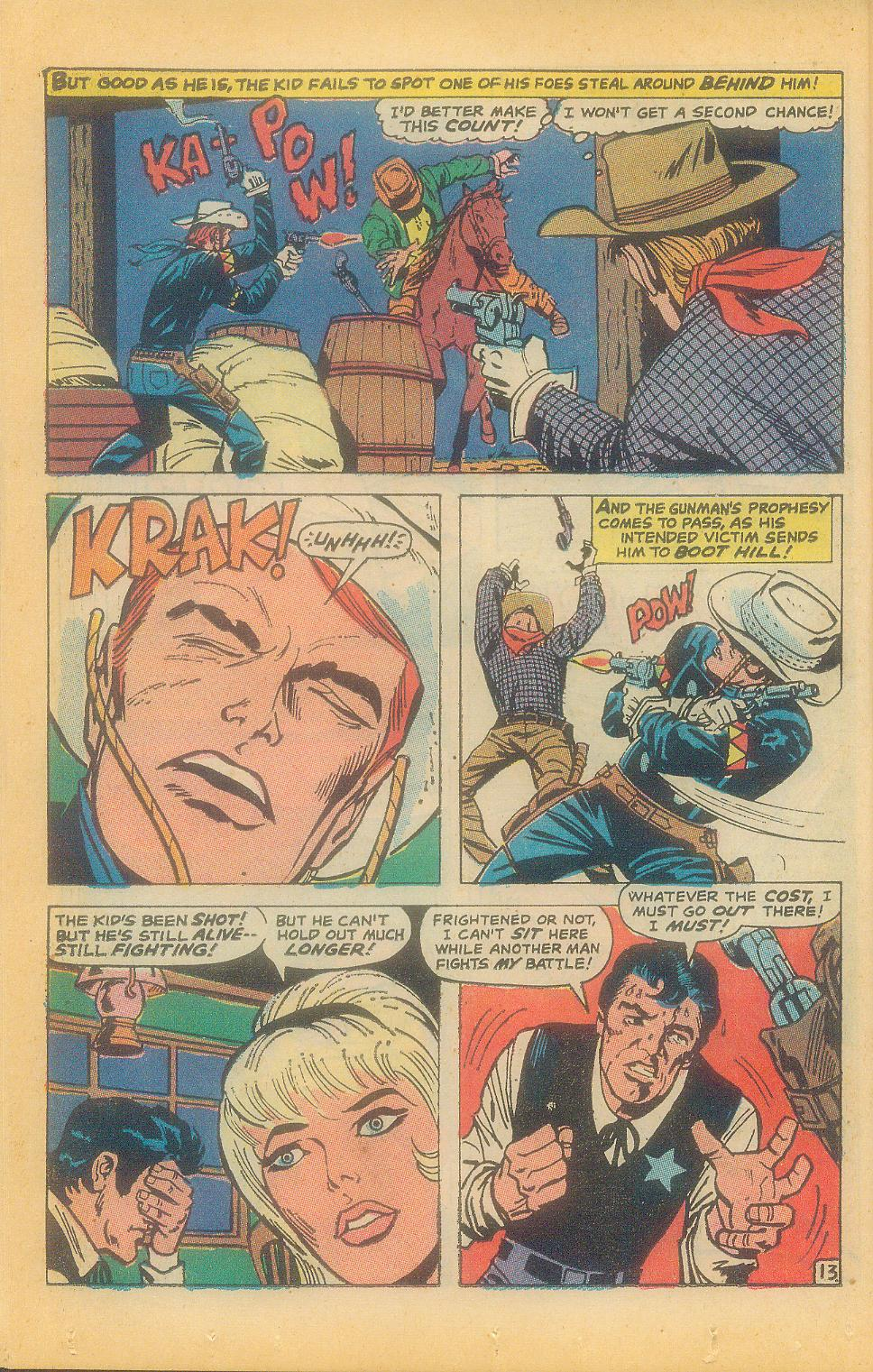 The Rawhide Kid (1955) issue 92 - Page 16