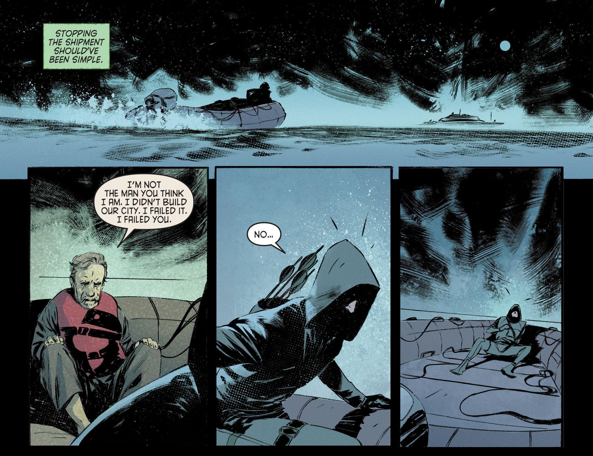 Read online Arrow [II] comic -  Issue #12 - 7