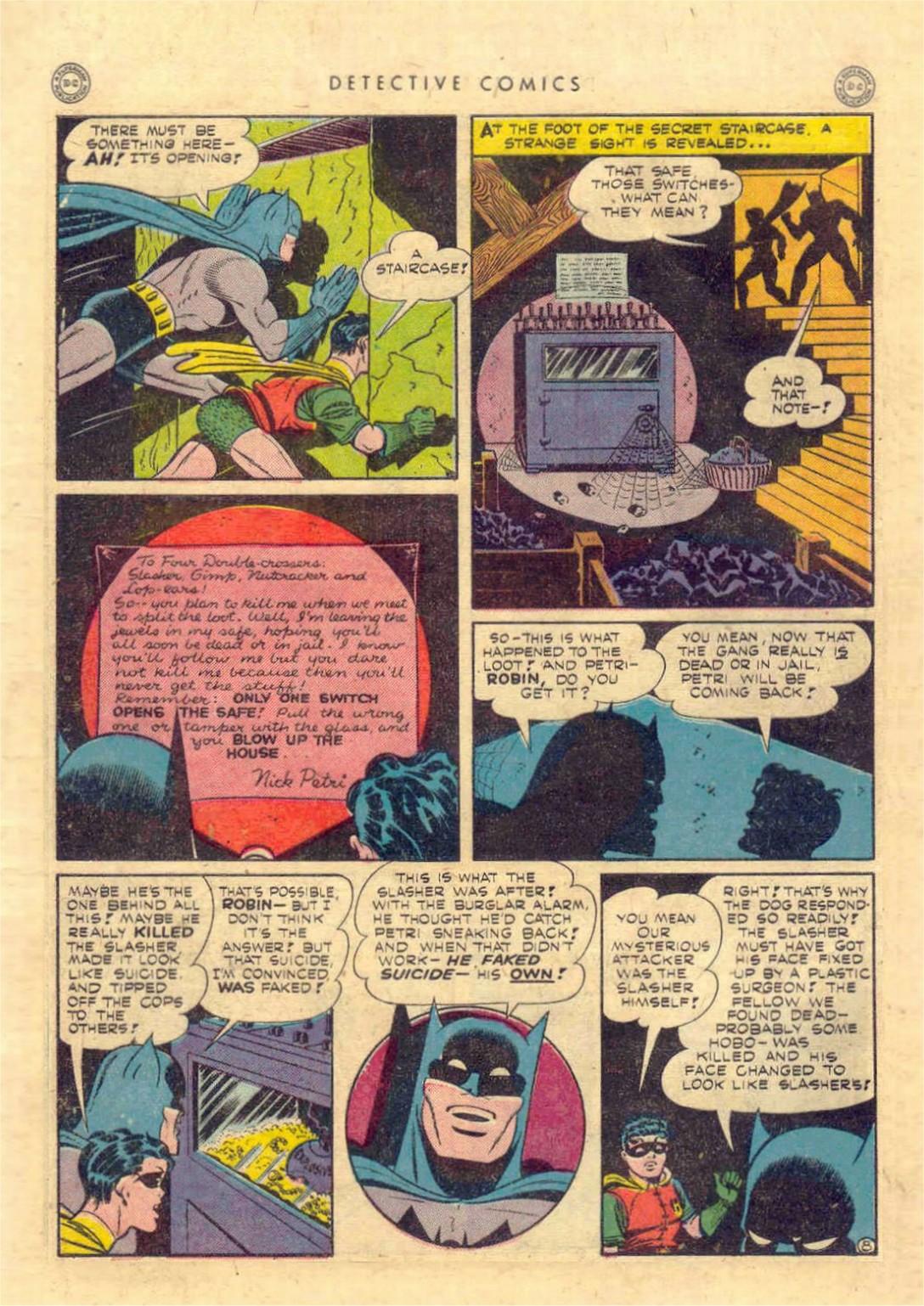 Read online Detective Comics (1937) comic -  Issue #97 - 10