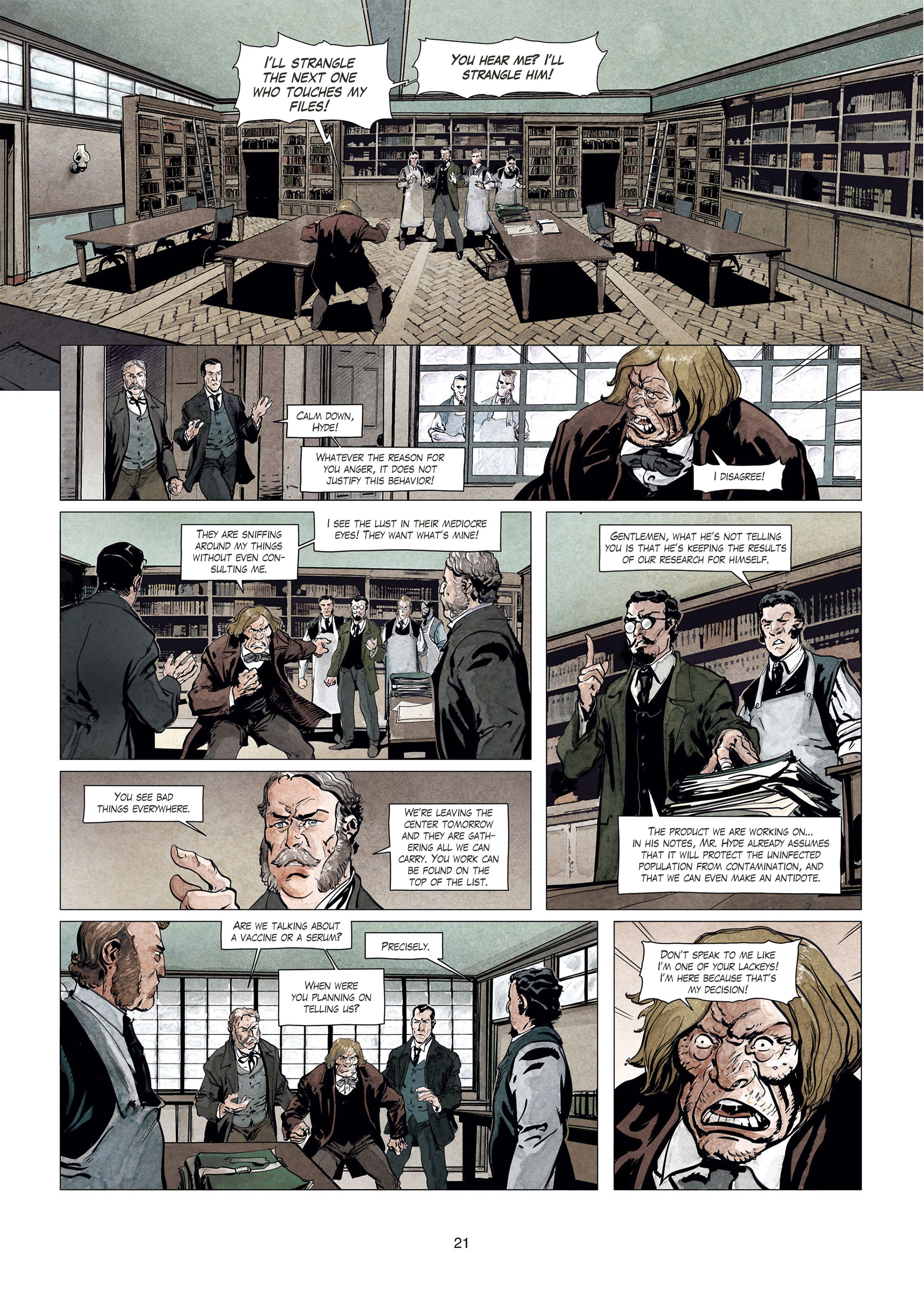 Read online Sherlock Holmes Society Tome 4 : Contamination comic -  Issue # Full - 21