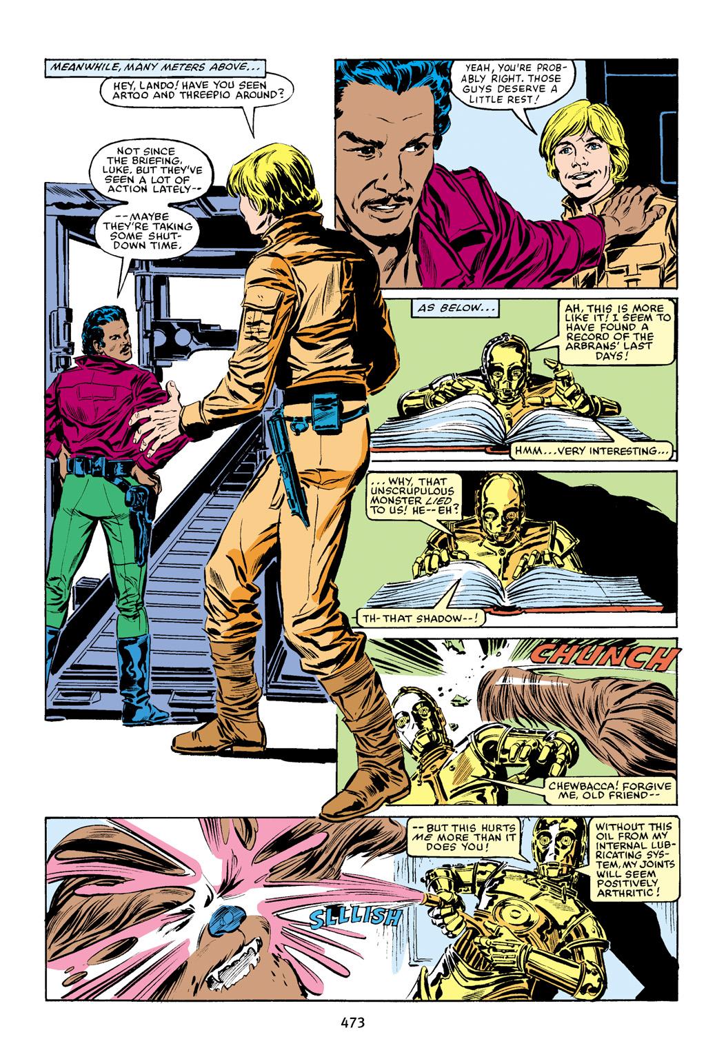 Read online Star Wars Omnibus comic -  Issue # Vol. 16 - 464