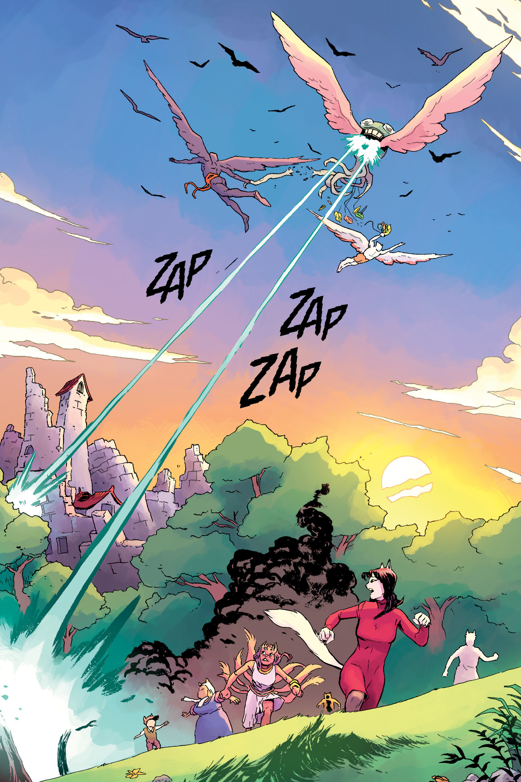 Read online Angel Catbird comic -  Issue # TPB 2 - 69