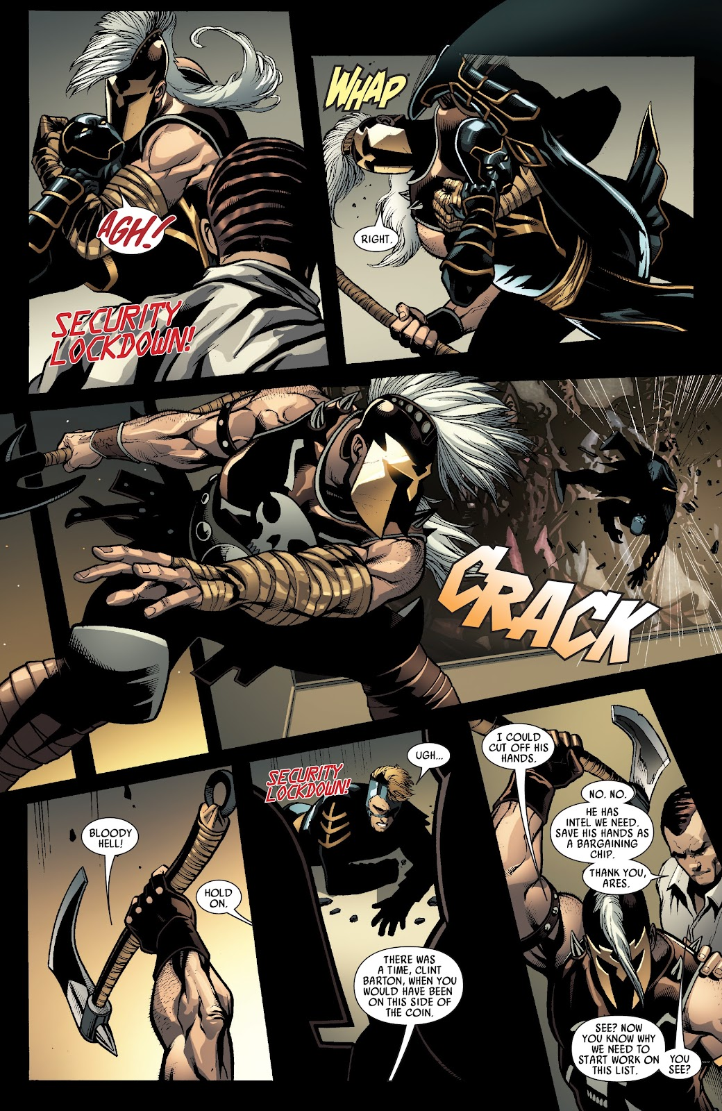 Read online Siege Prelude comic -  Issue # TPB (Part 2) - 34