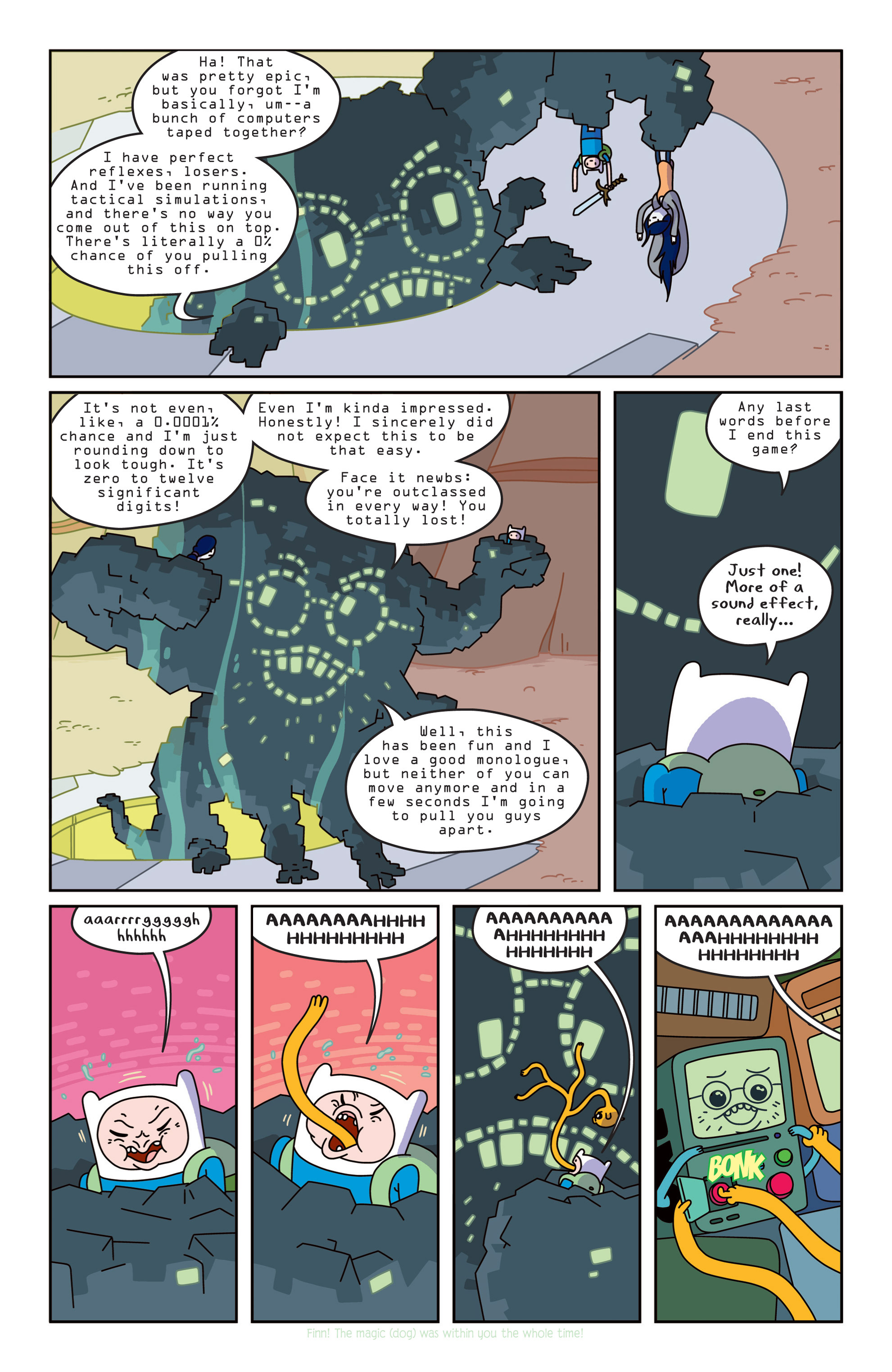 Read online Adventure Time comic -  Issue #14 - 12