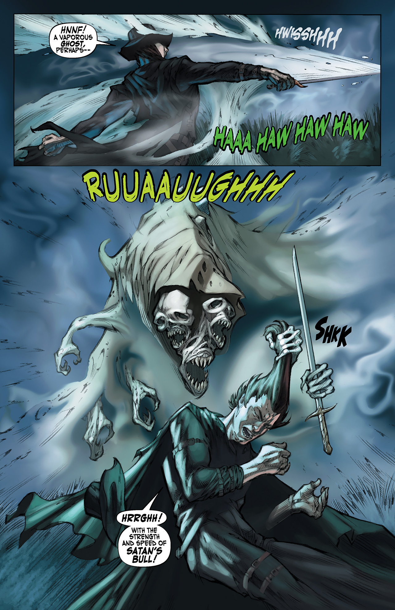 Read online Solomon Kane: Red Shadows comic -  Issue #1 - 11