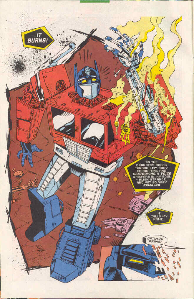 Read online Transformers: Generation 2 comic -  Issue #4 - 4