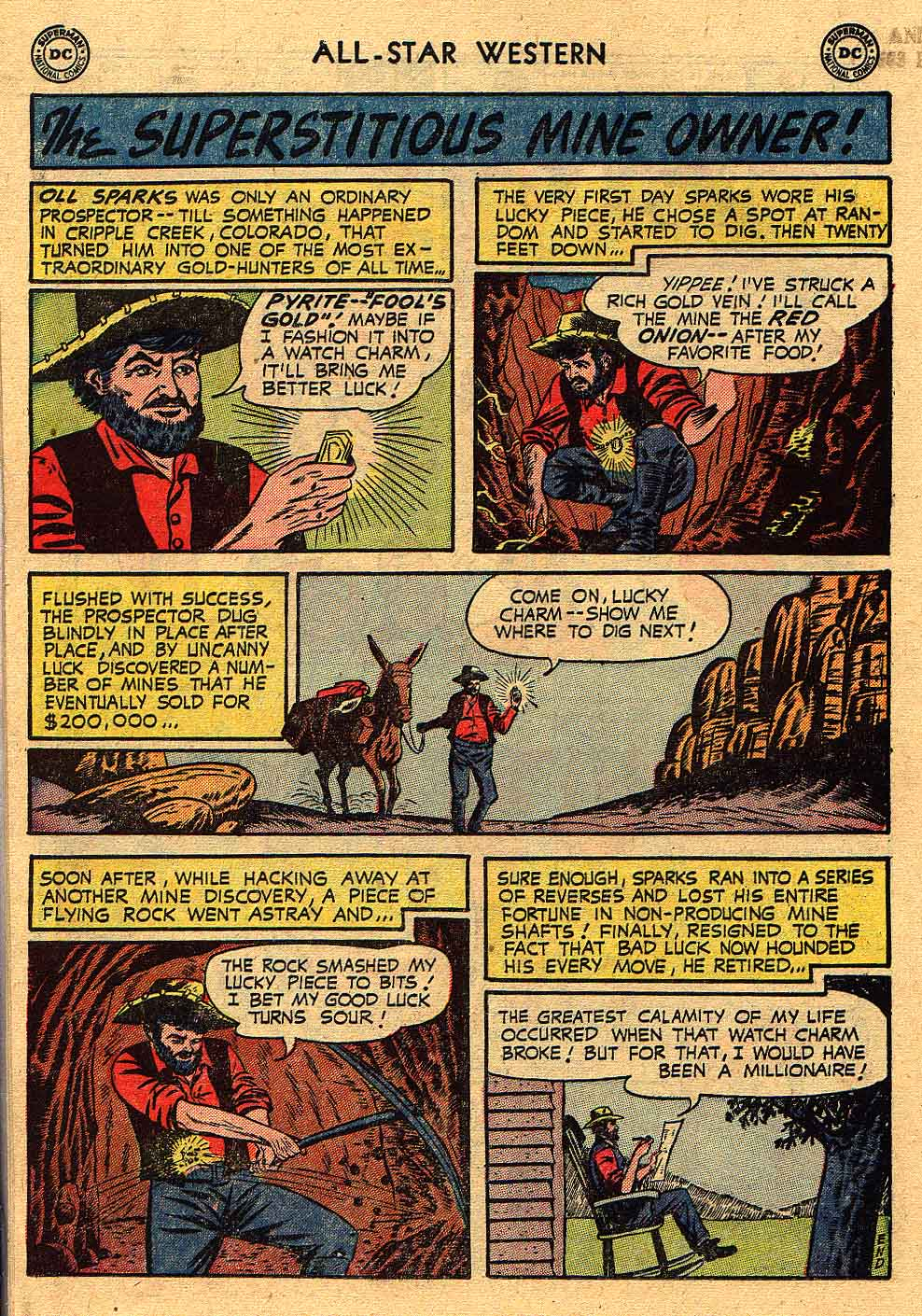 Read online All-Star Western (1951) comic -  Issue #80 - 18