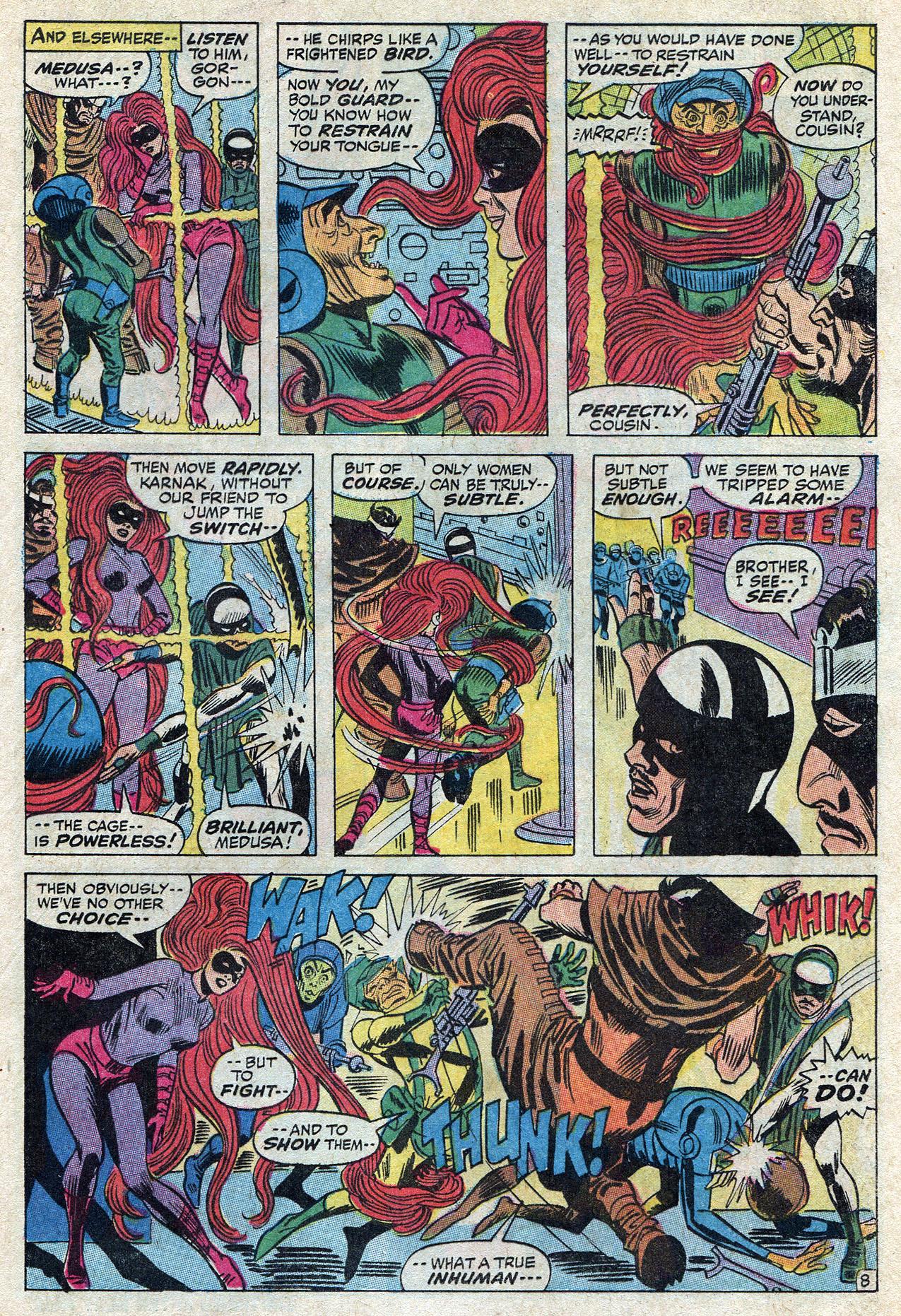 Read online Amazing Adventures (1970) comic -  Issue #10 - 13