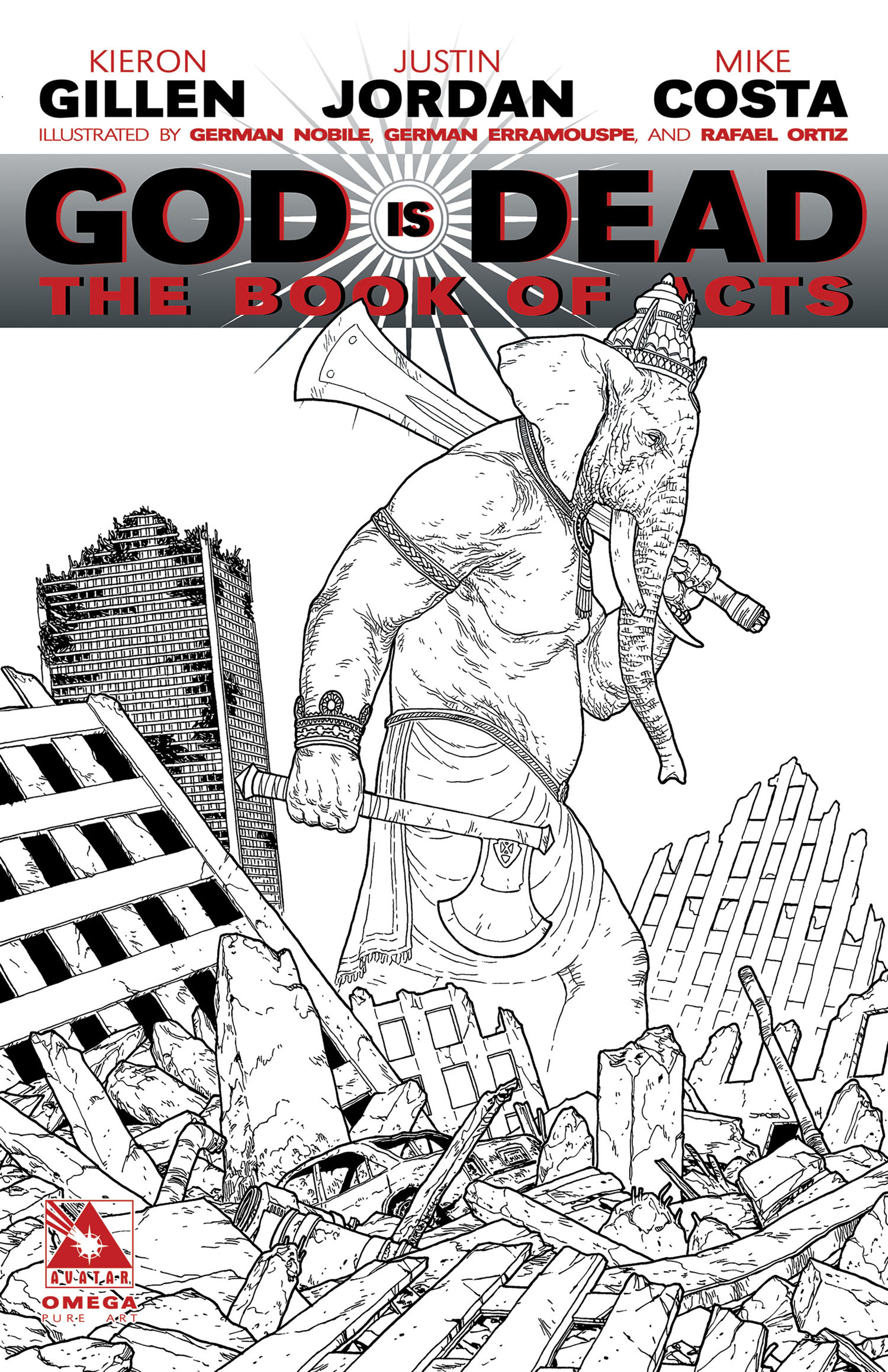 Read online God is Dead: Book of Acts comic -  Issue # Omega - 6