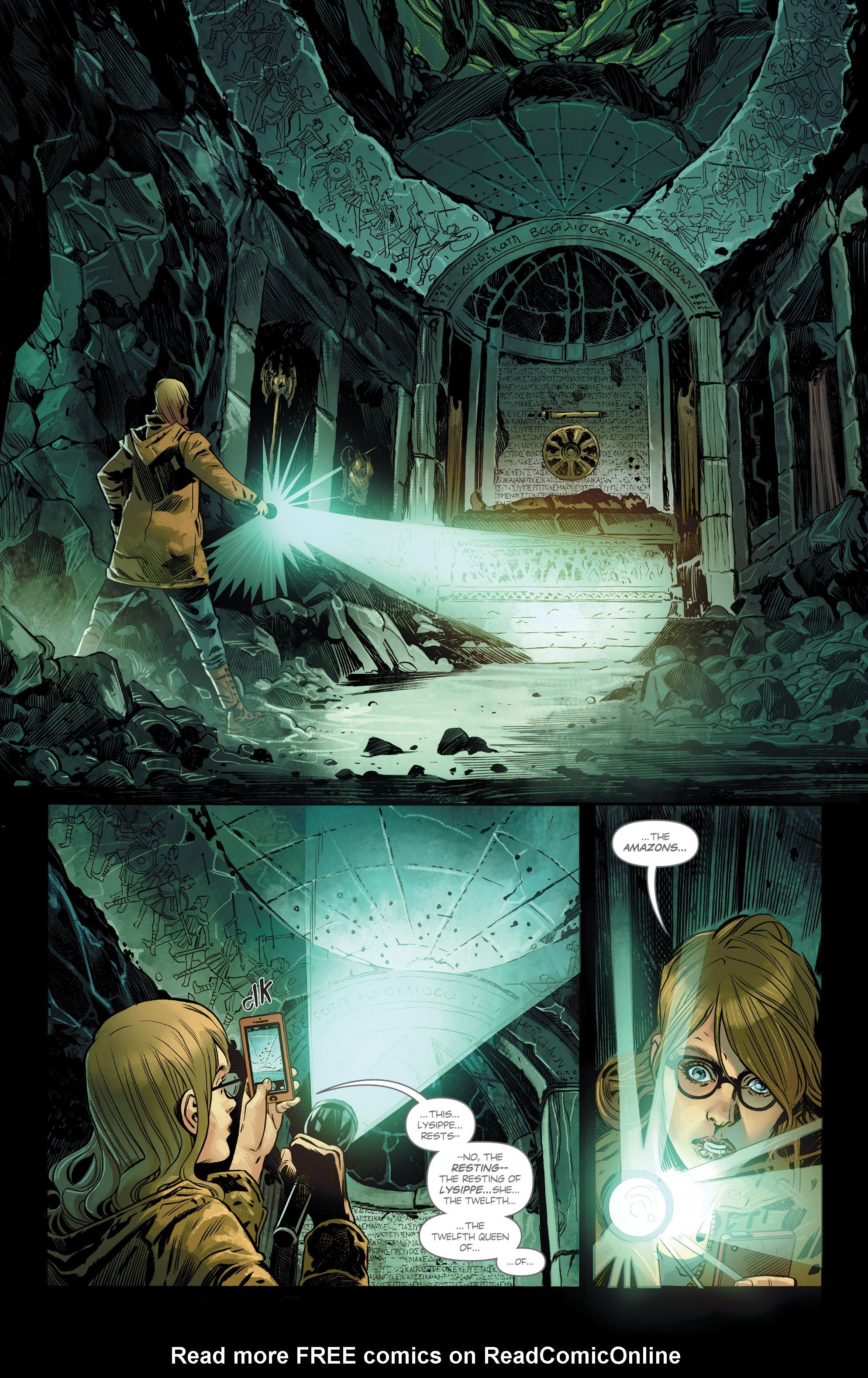 Read online Wonder Woman (2016) comic -  Issue #8 - 11
