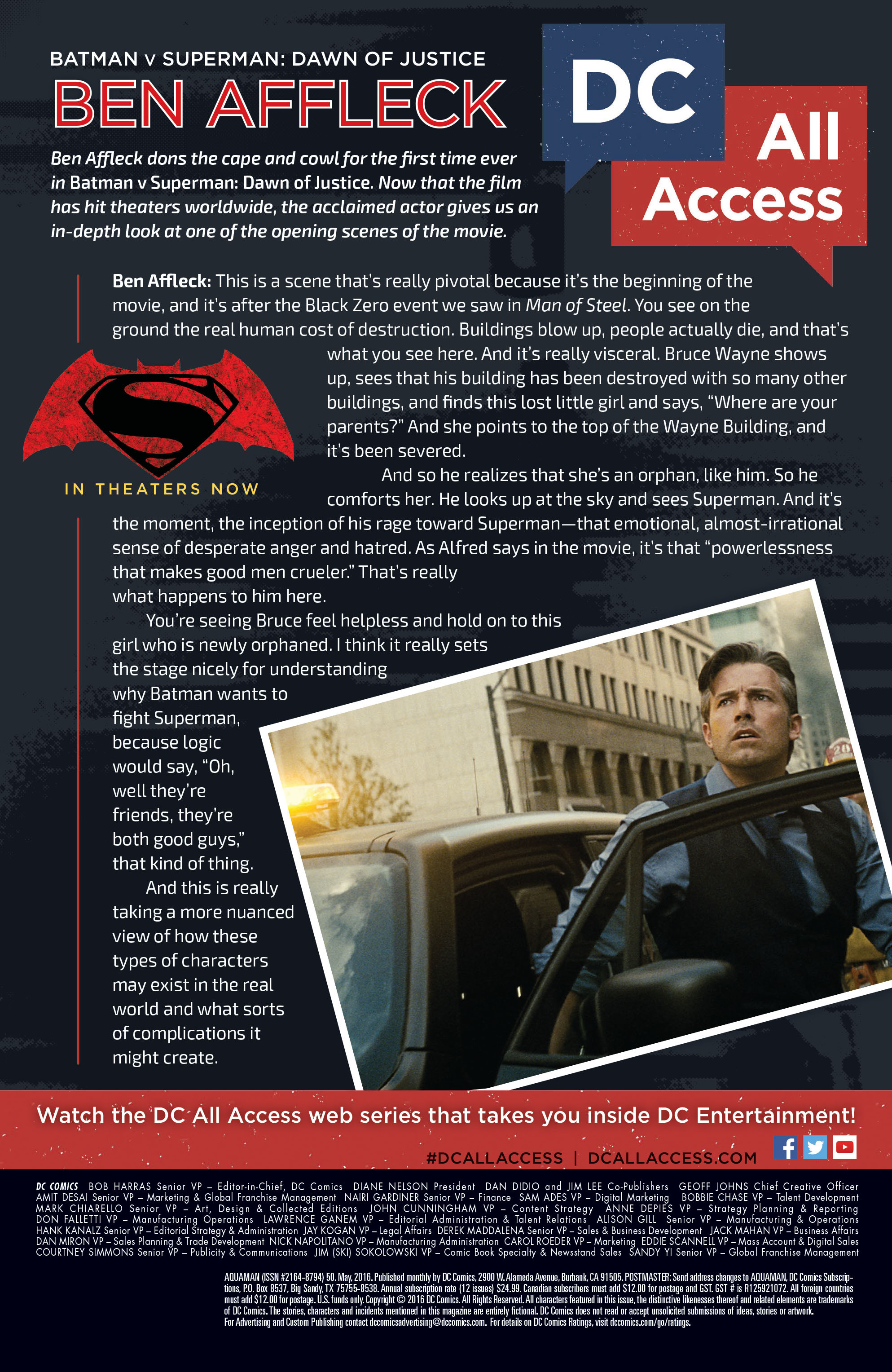 Read online Aquaman (2011) comic -  Issue #50 - 44