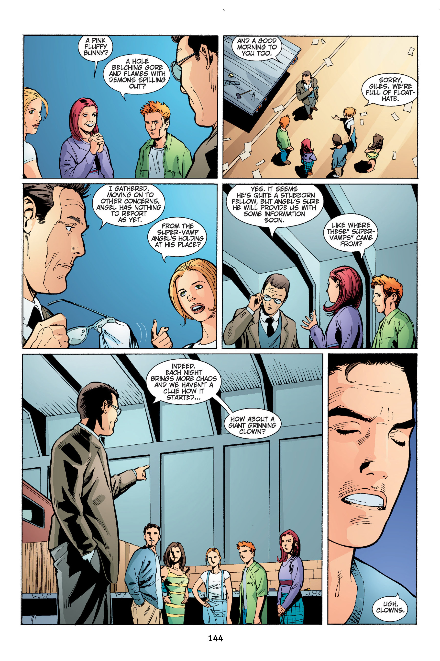 Read online Buffy the Vampire Slayer: Omnibus comic -  Issue # TPB 4 - 145