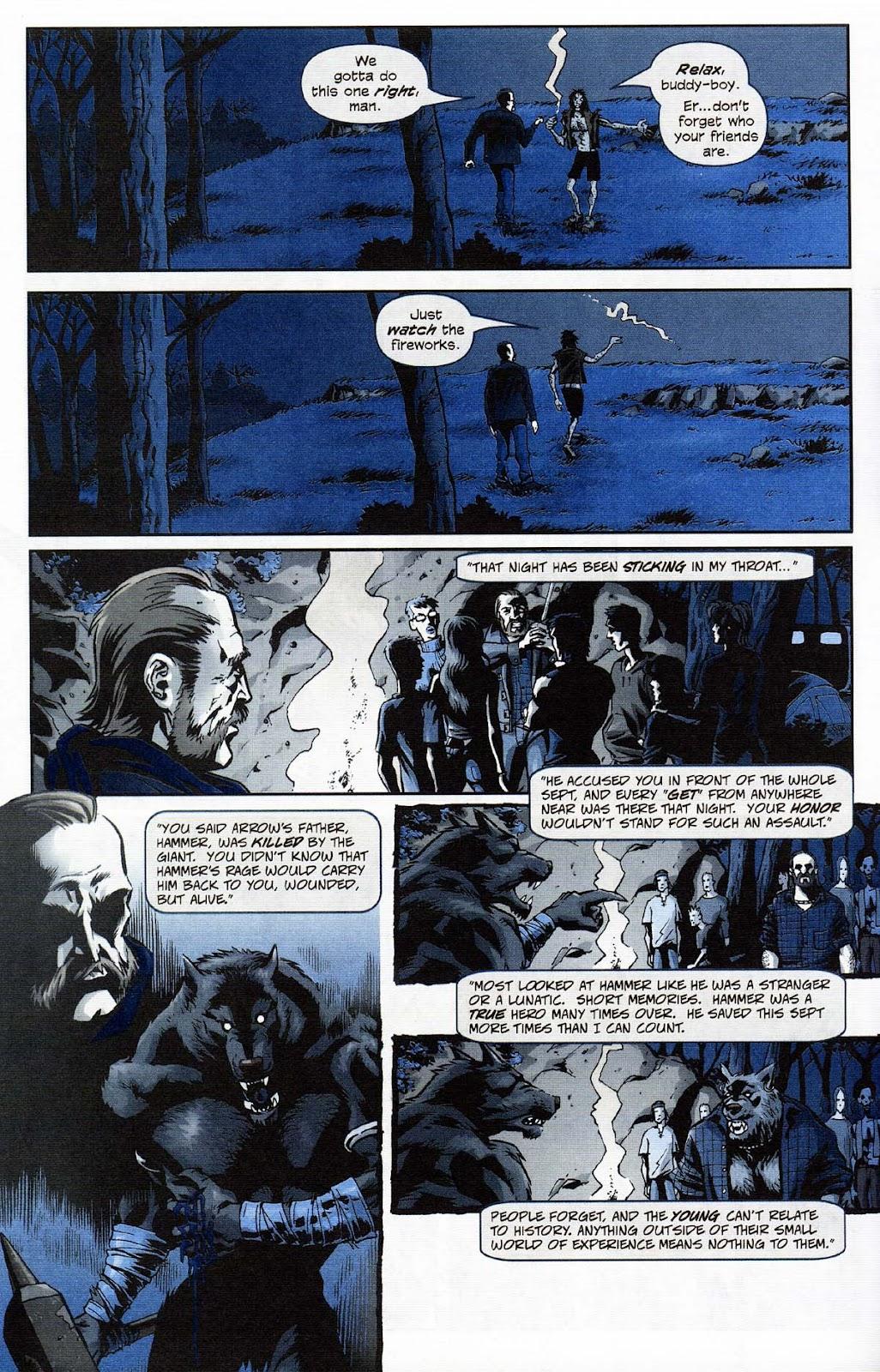 Read online Werewolf the Apocalypse comic -  Issue # Get of Fenris - 24