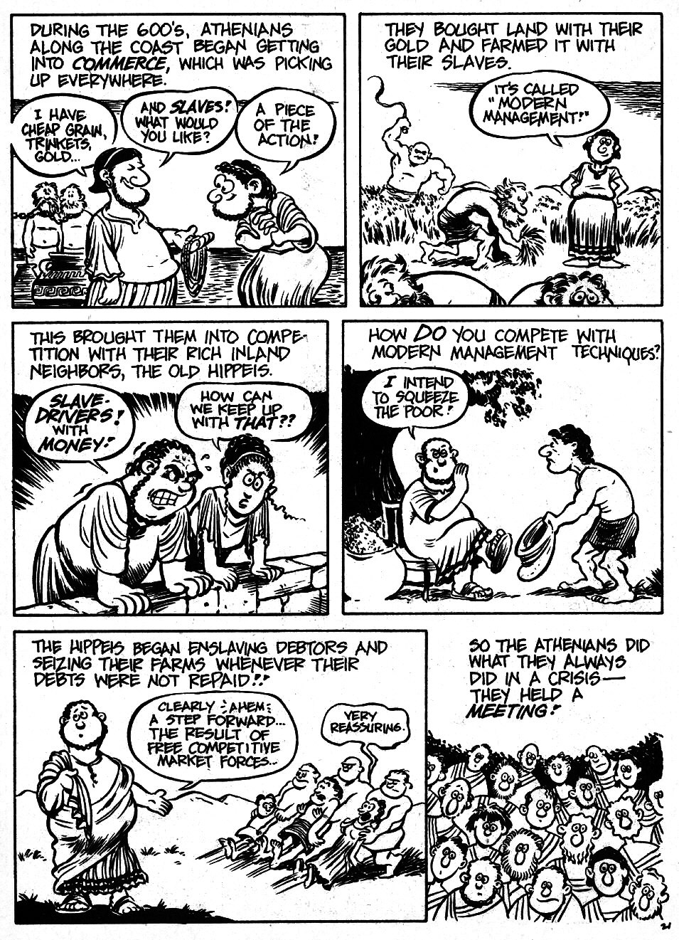 Read online The Cartoon History of the Universe comic -  Issue #6 - 23