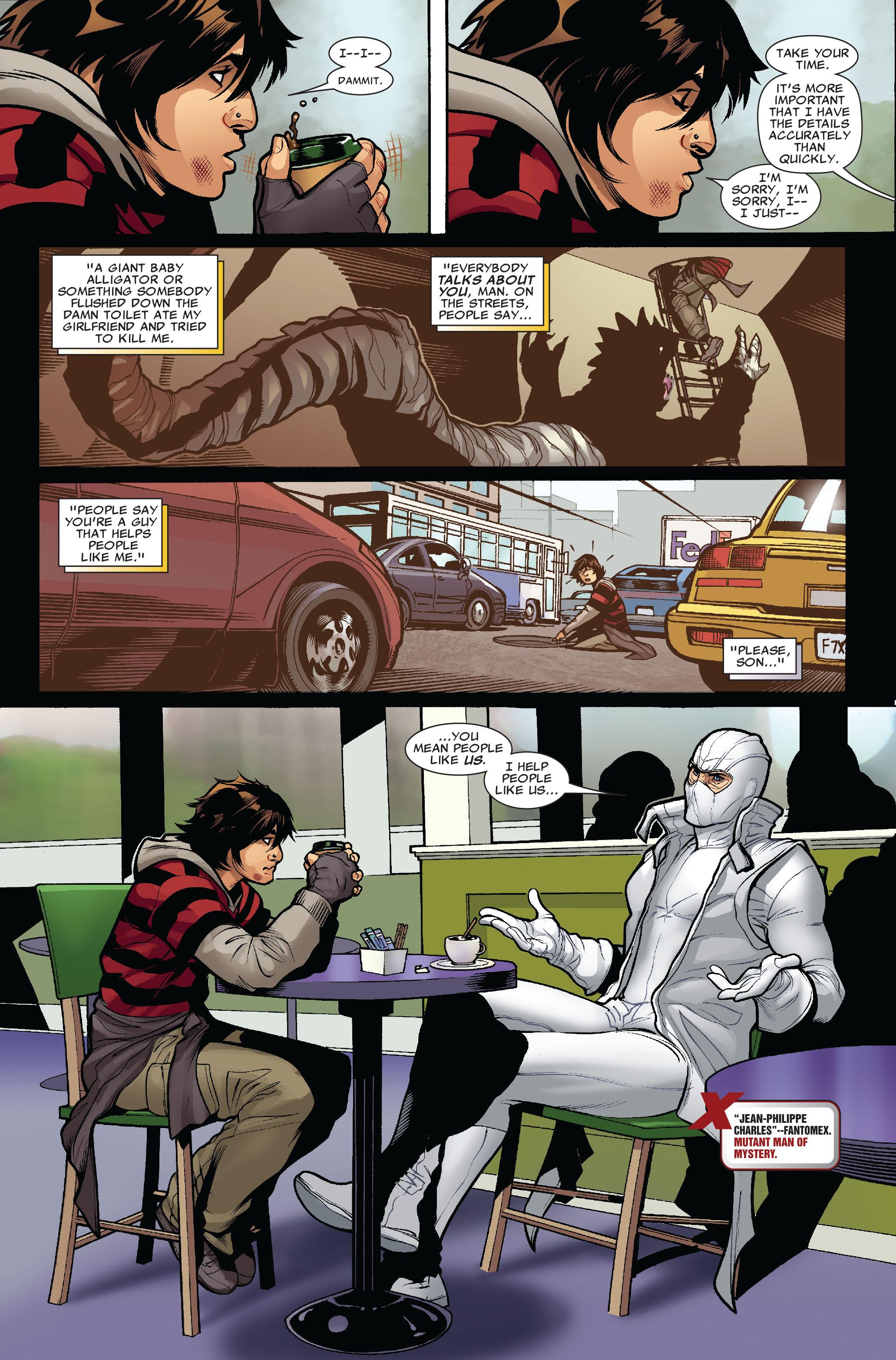 Read online Uncanny X-Men (1963) comic -  Issue #519 - 4