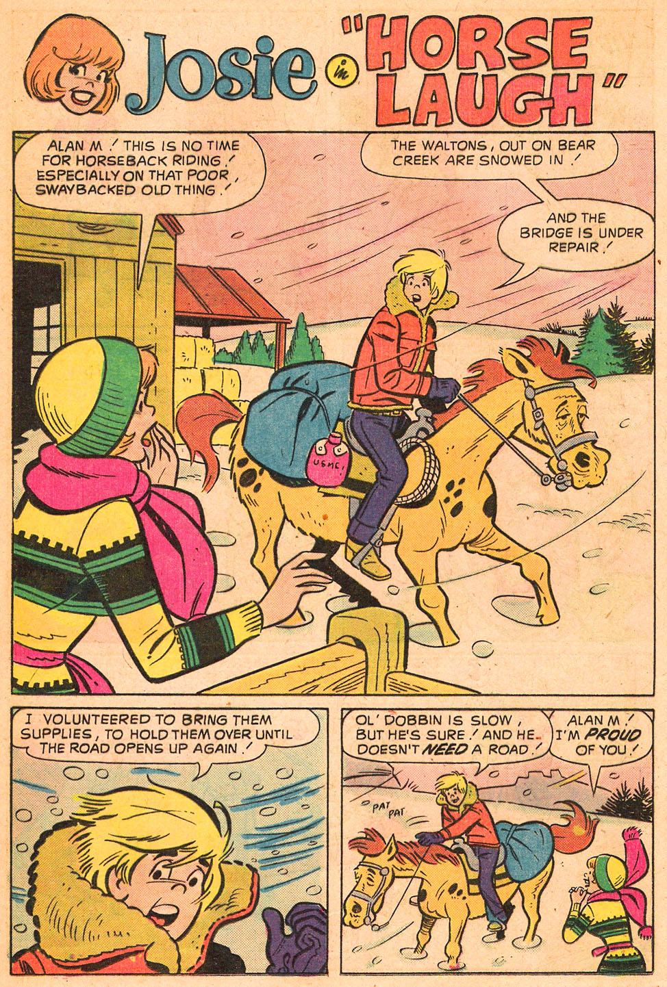 Read online She's Josie comic -  Issue #82 - 20